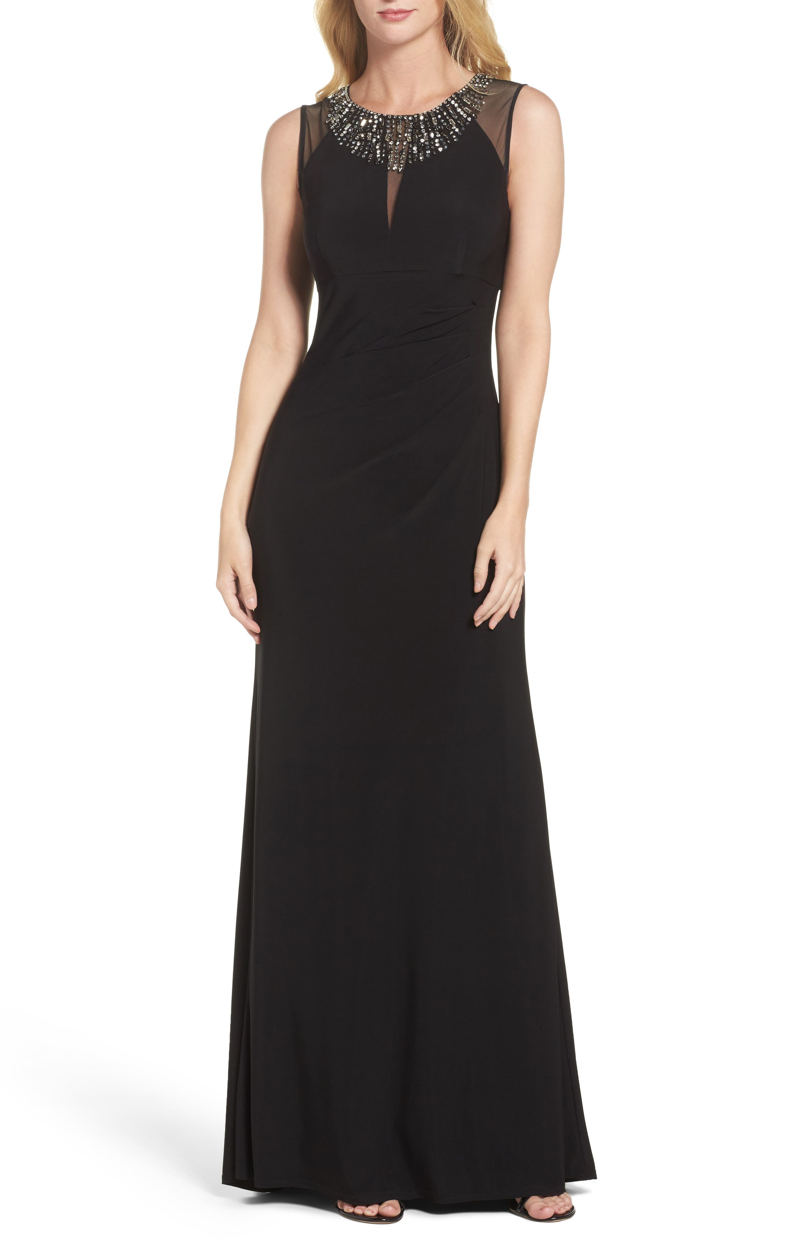Alternate Image 1 Selected - Vince Camuto Embellished Gown