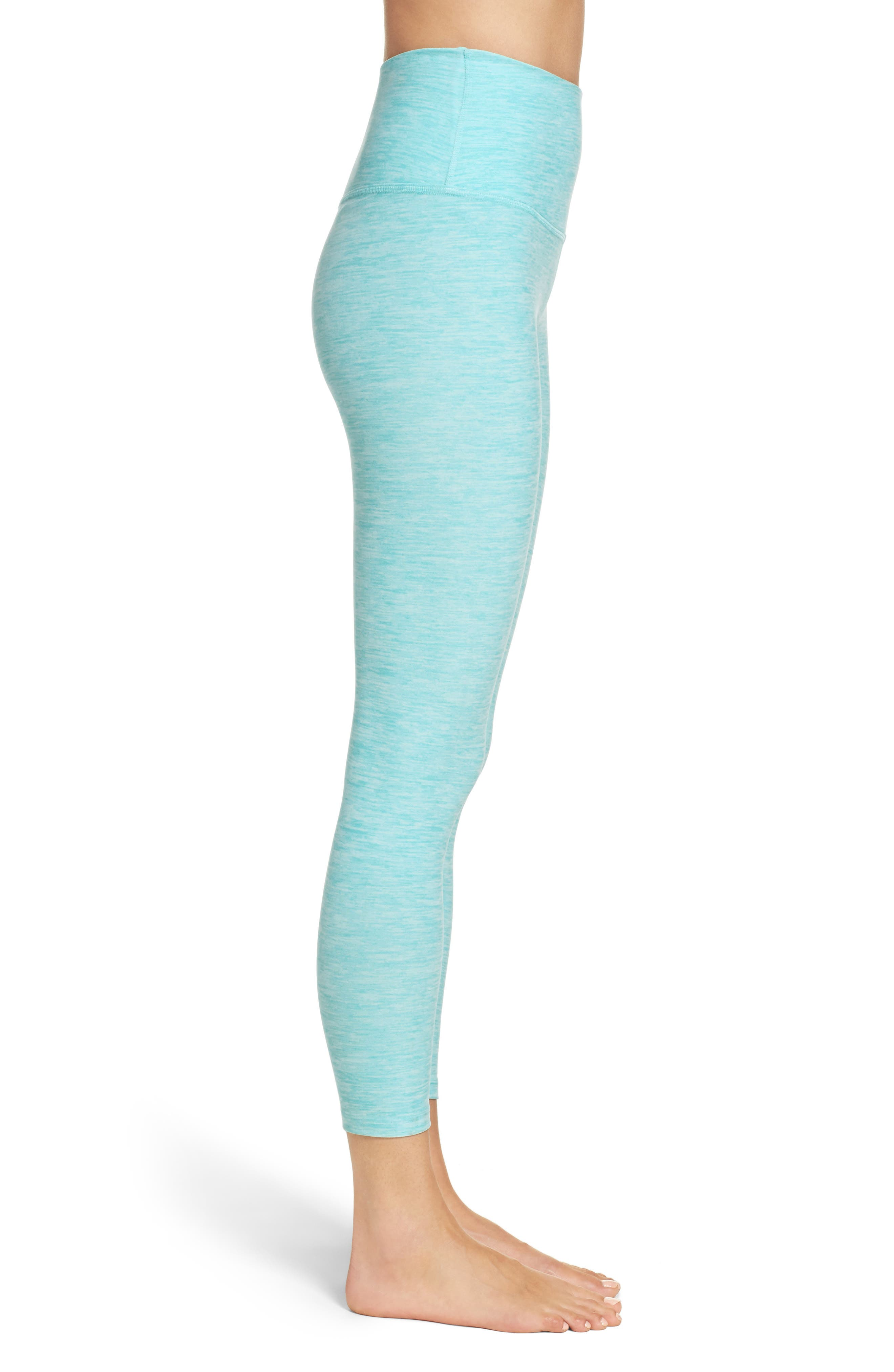 Alternate Image 3  - Beyond Yoga High Waist Capris