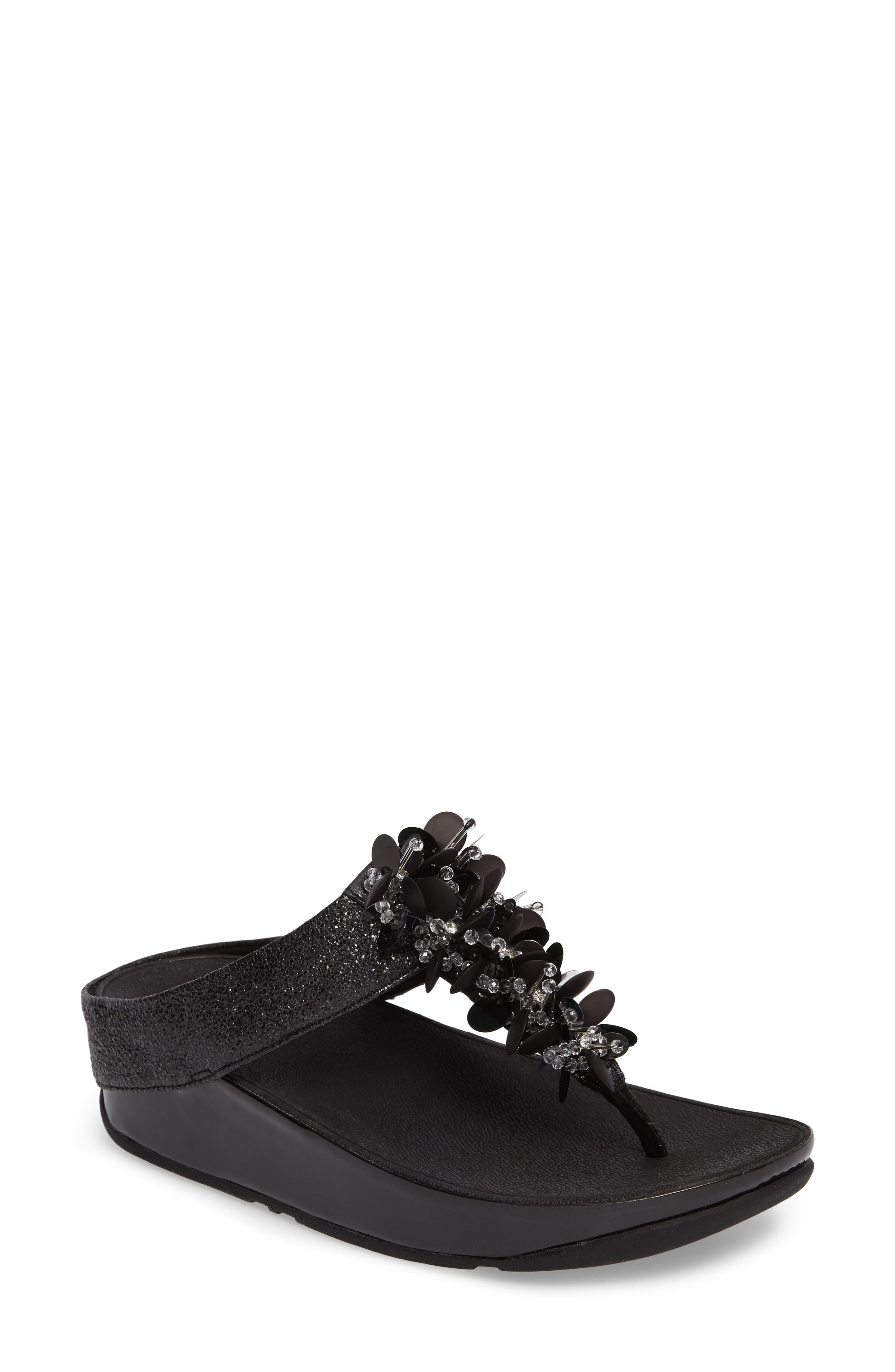 Alternate Image 1 Selected - FitFlop Boogaloo Sandal (Women)
