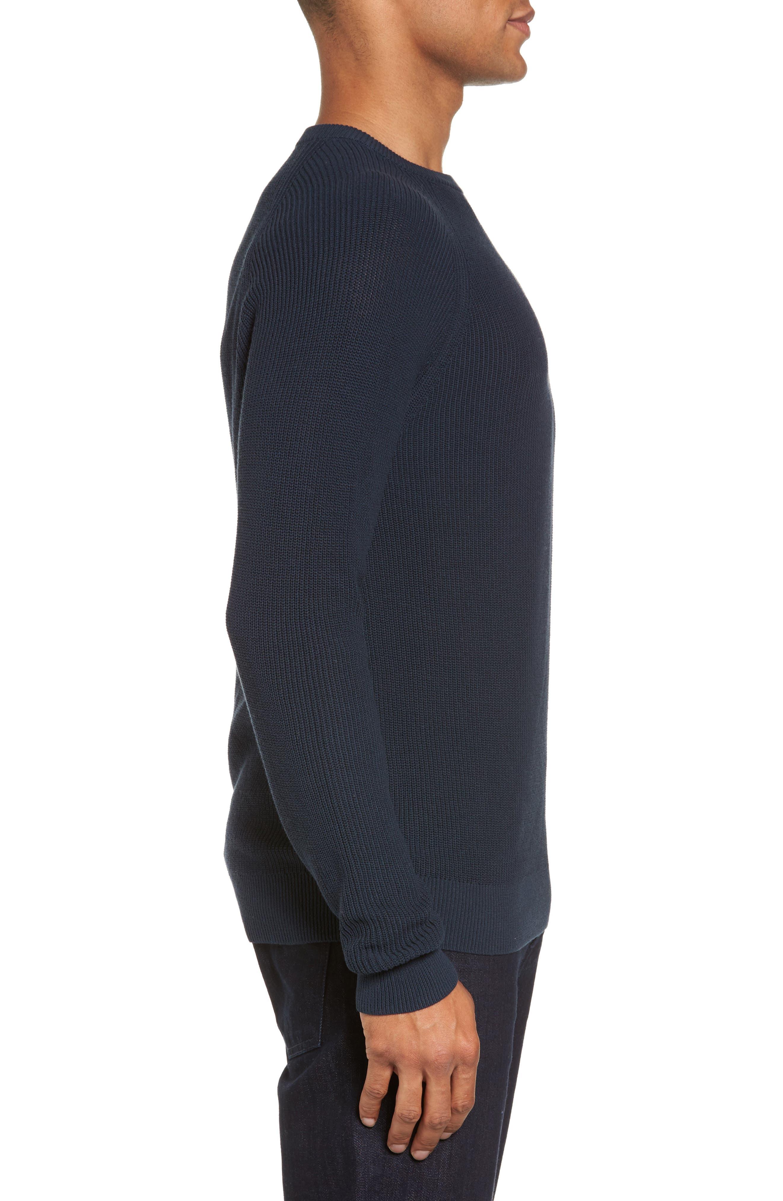 Alternate Image 3  - Nordstrom Men's Shop Crewneck Sweater (Regular)