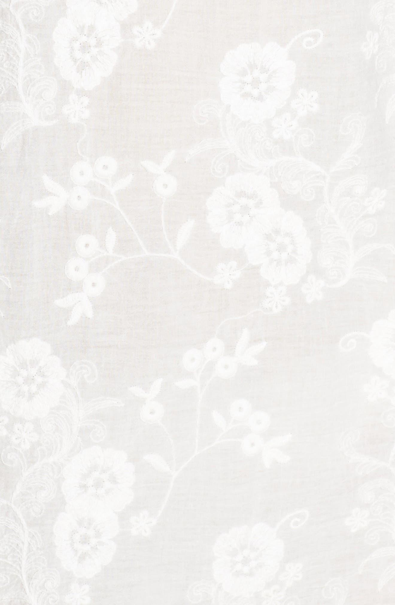 Zen Garden Cover-Up Dress,                             Alternate thumbnail 5, color,                             White