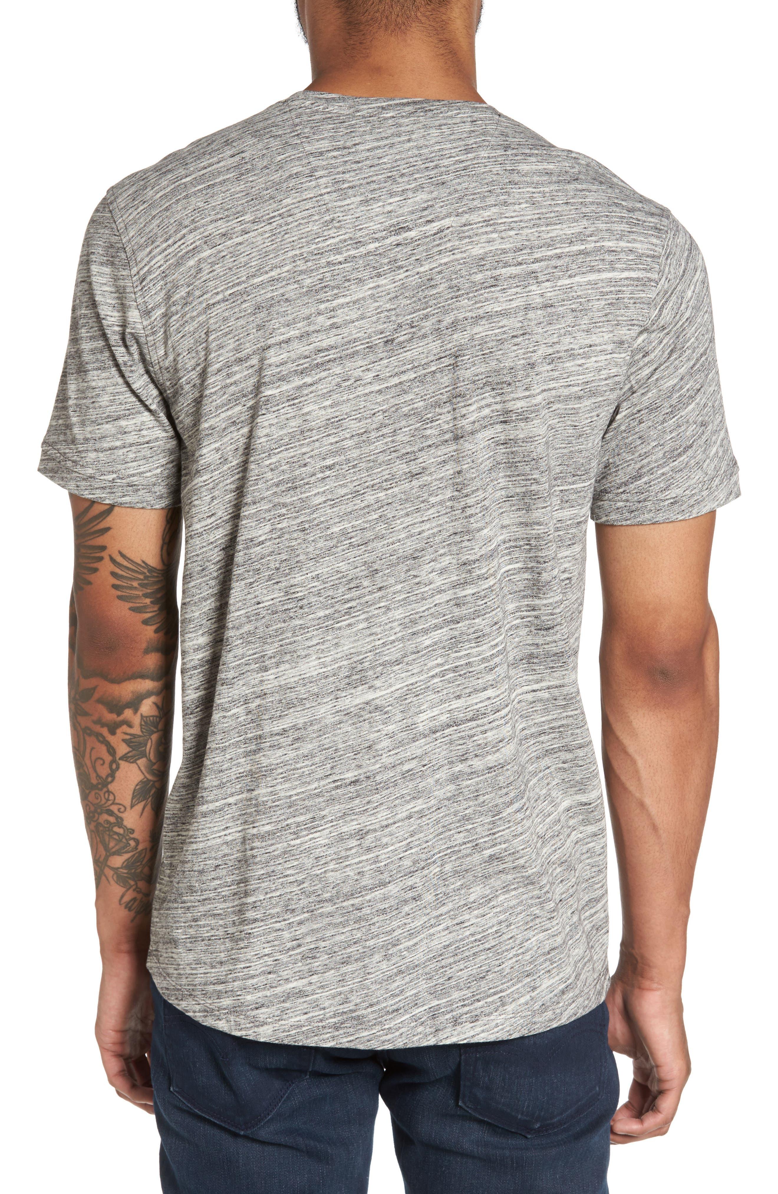Texture T-Shirt,                             Alternate thumbnail 2, color,                             Ivory Egret Spacedye