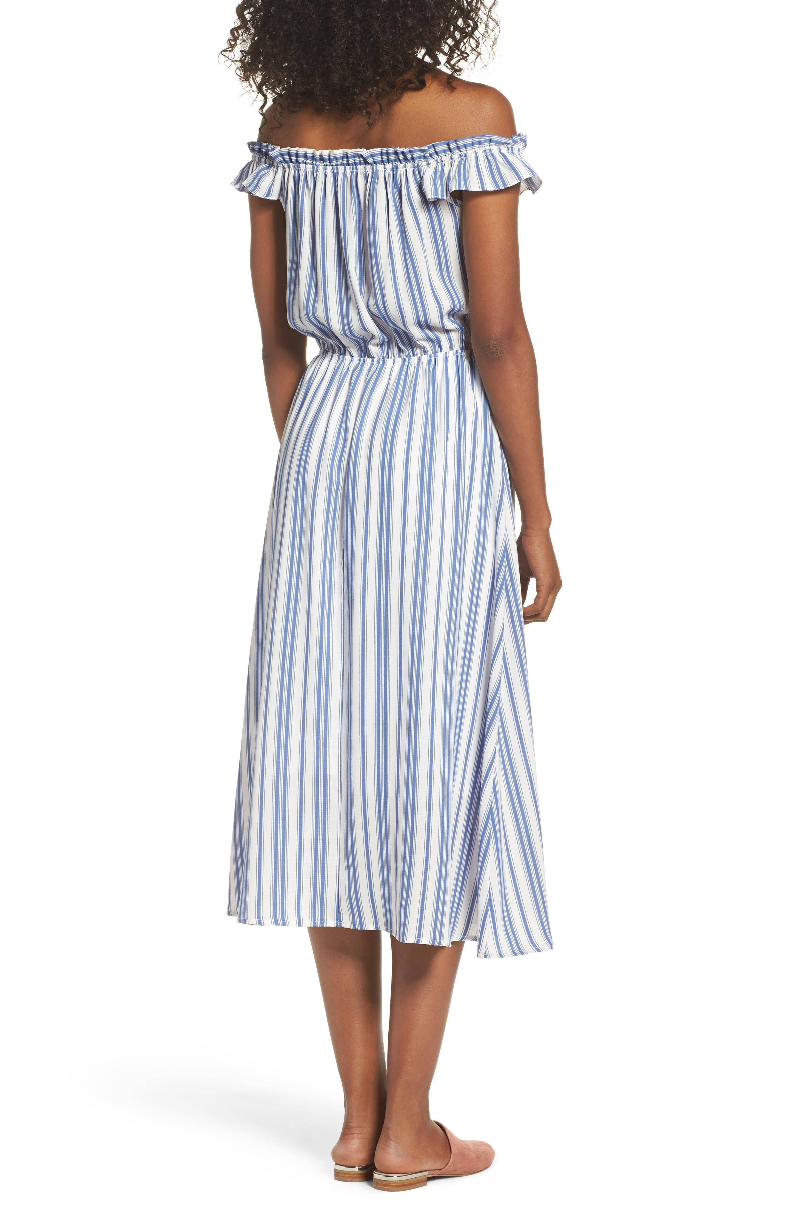 Alternate Image 2  - Fraiche by J Prairie Off the Shoulder Dress