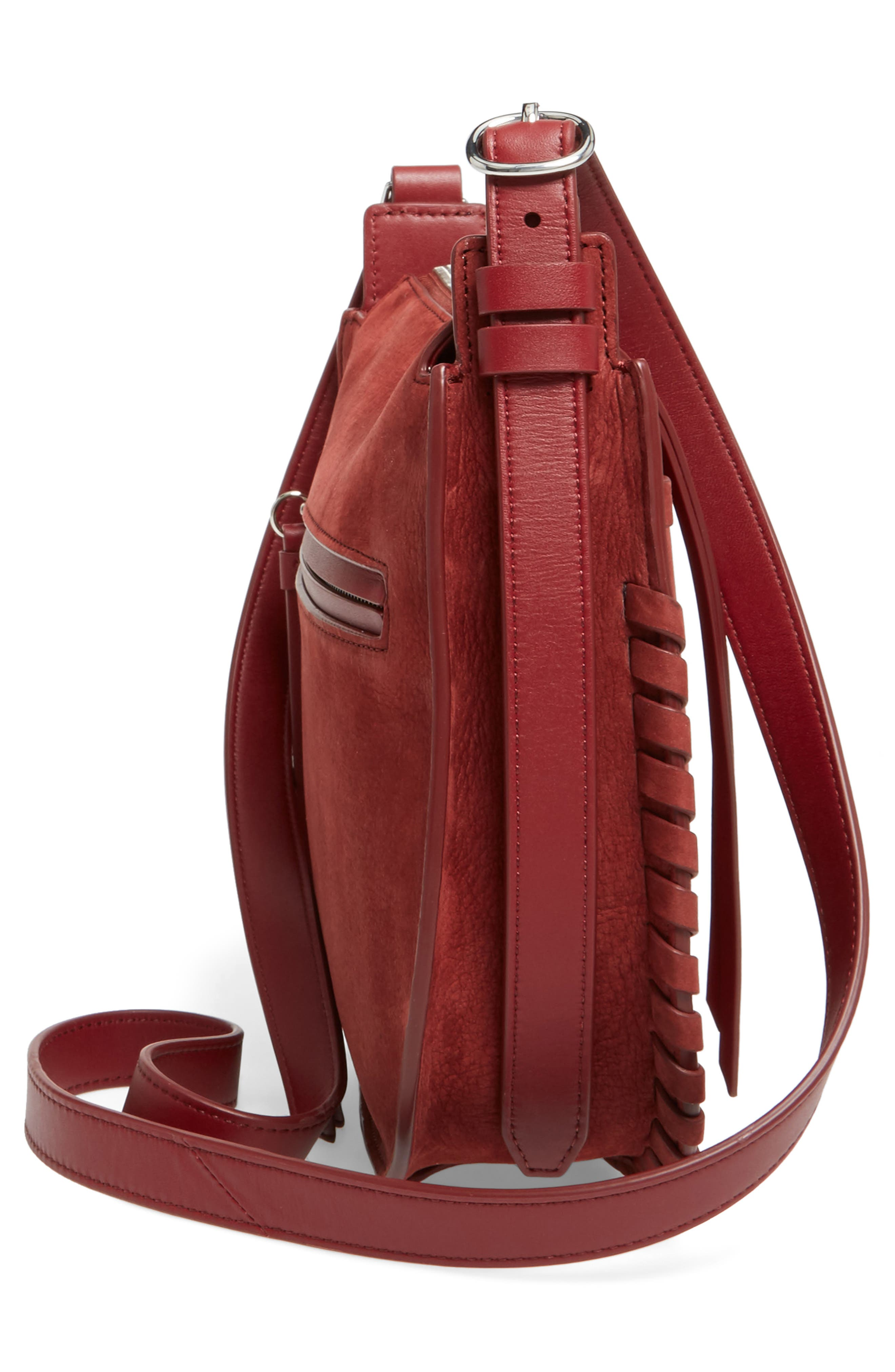 Alternate Image 5  - ALLSAINTS Ray Nubuck Crossbody Bag (Nordstrom Exclusive)