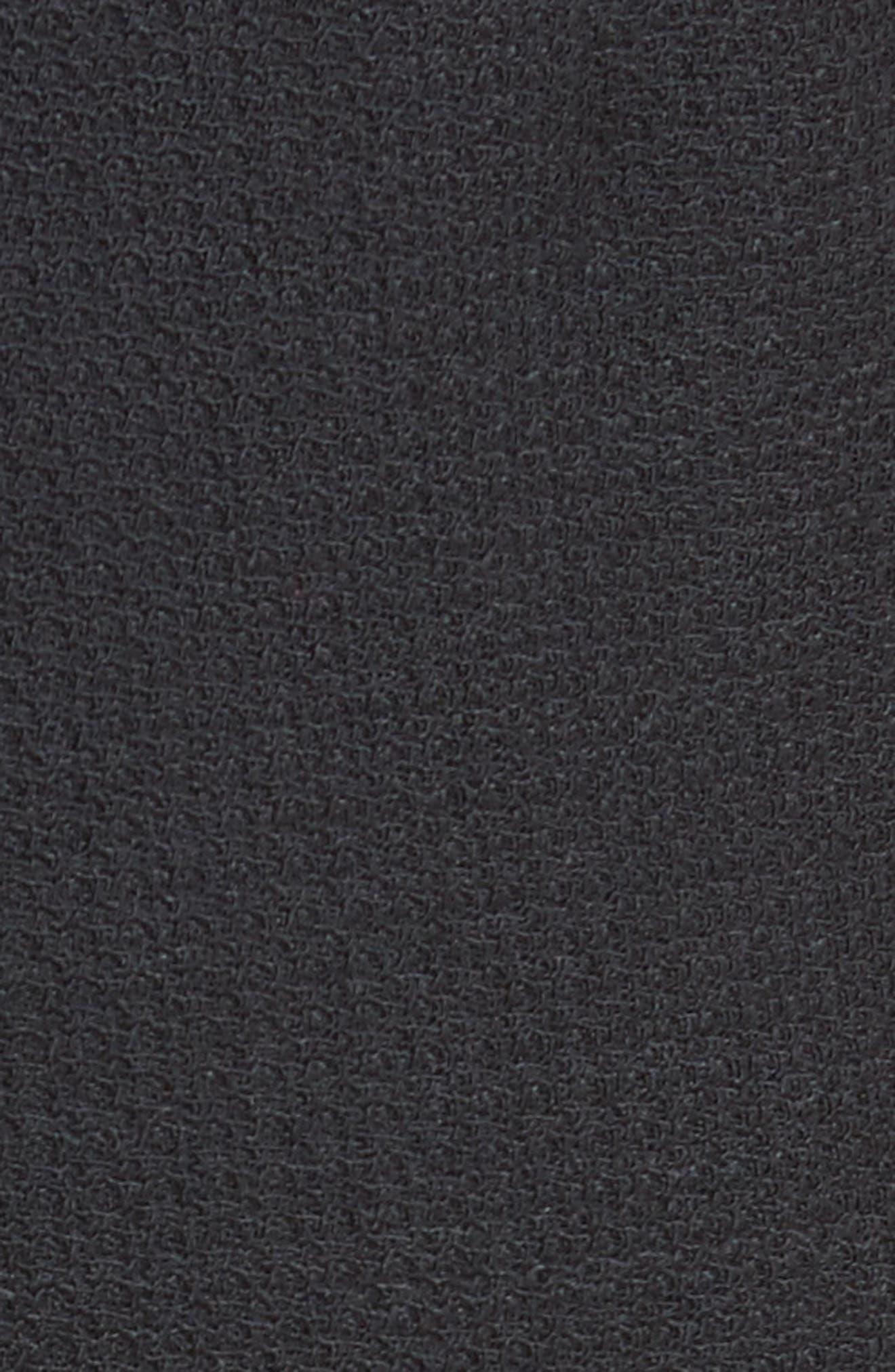 Alternate Image 5  - Armani Collezioni Stretch Wool Wide Leg Pants