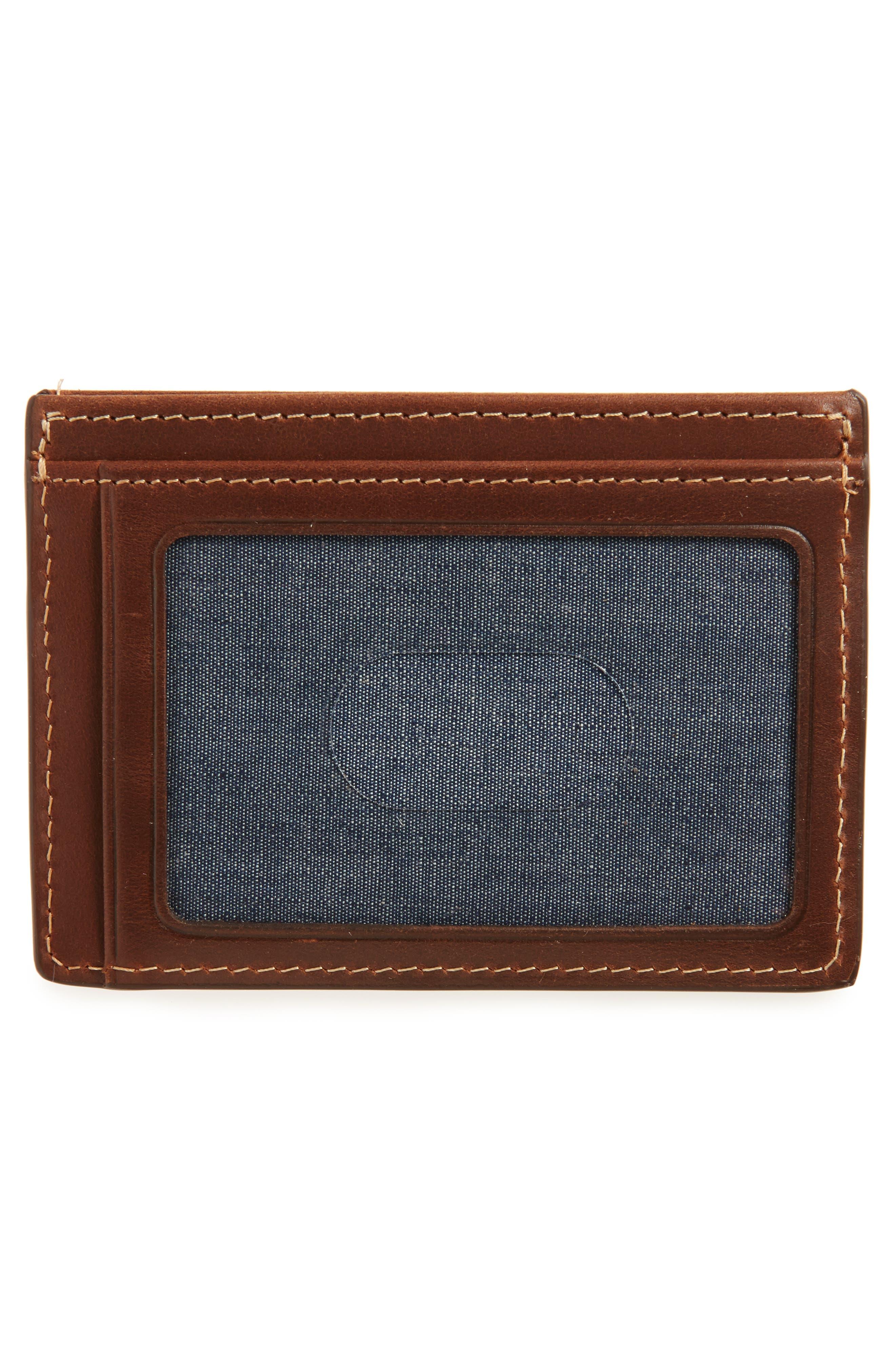 Card Case,                             Alternate thumbnail 2, color,                             Brown Mahogany