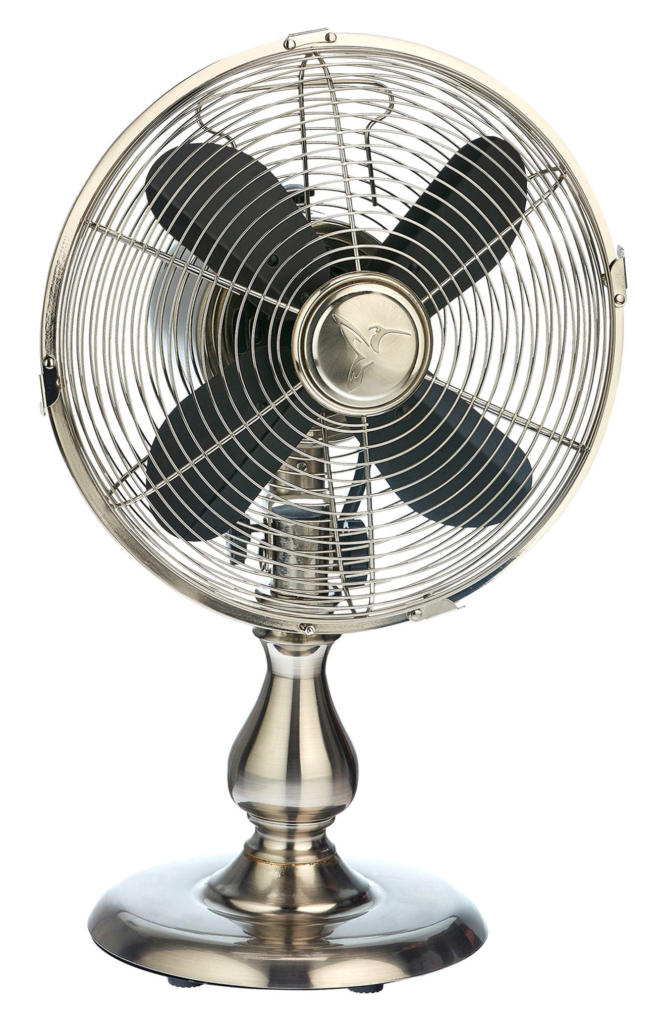 Stainless Table Fan,                         Main,                         color, Silver