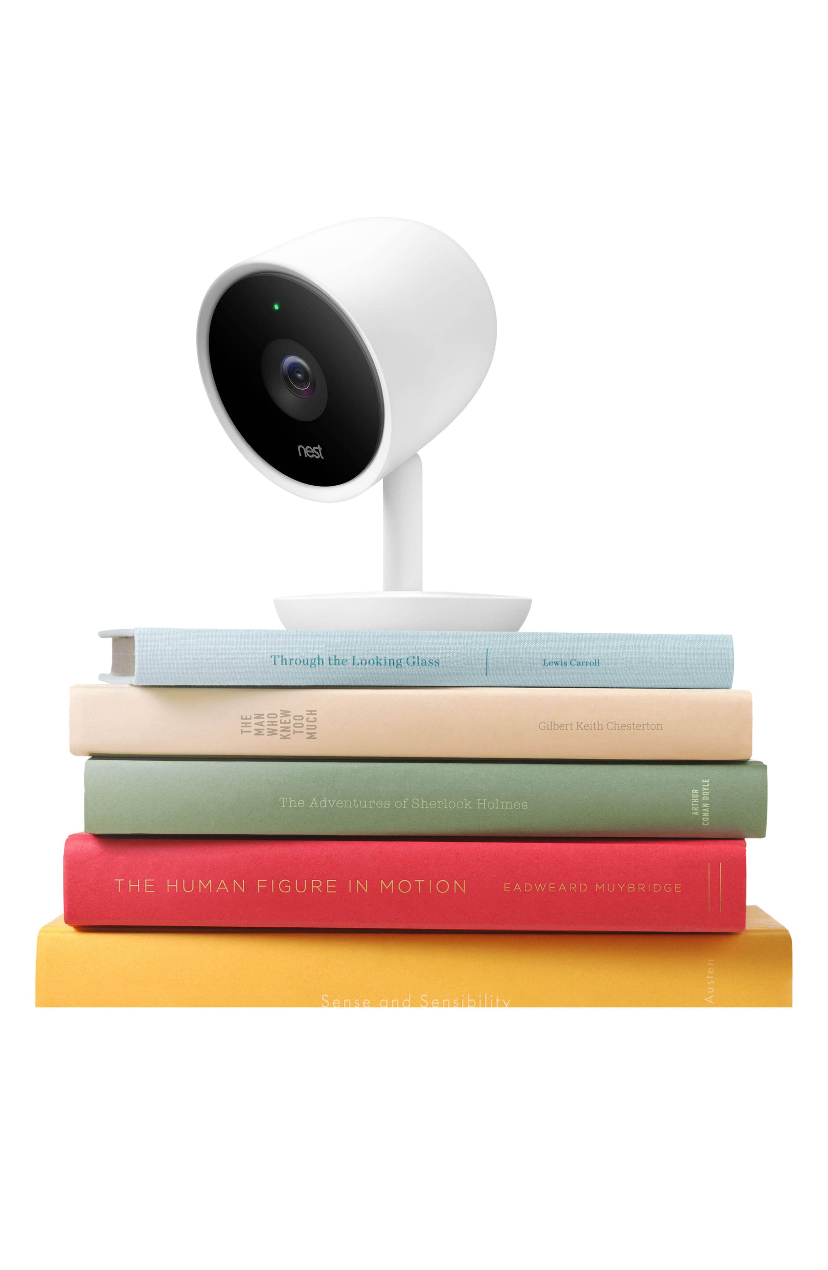Cam IQ Indoor Security Camera,                             Alternate thumbnail 6, color,                             White