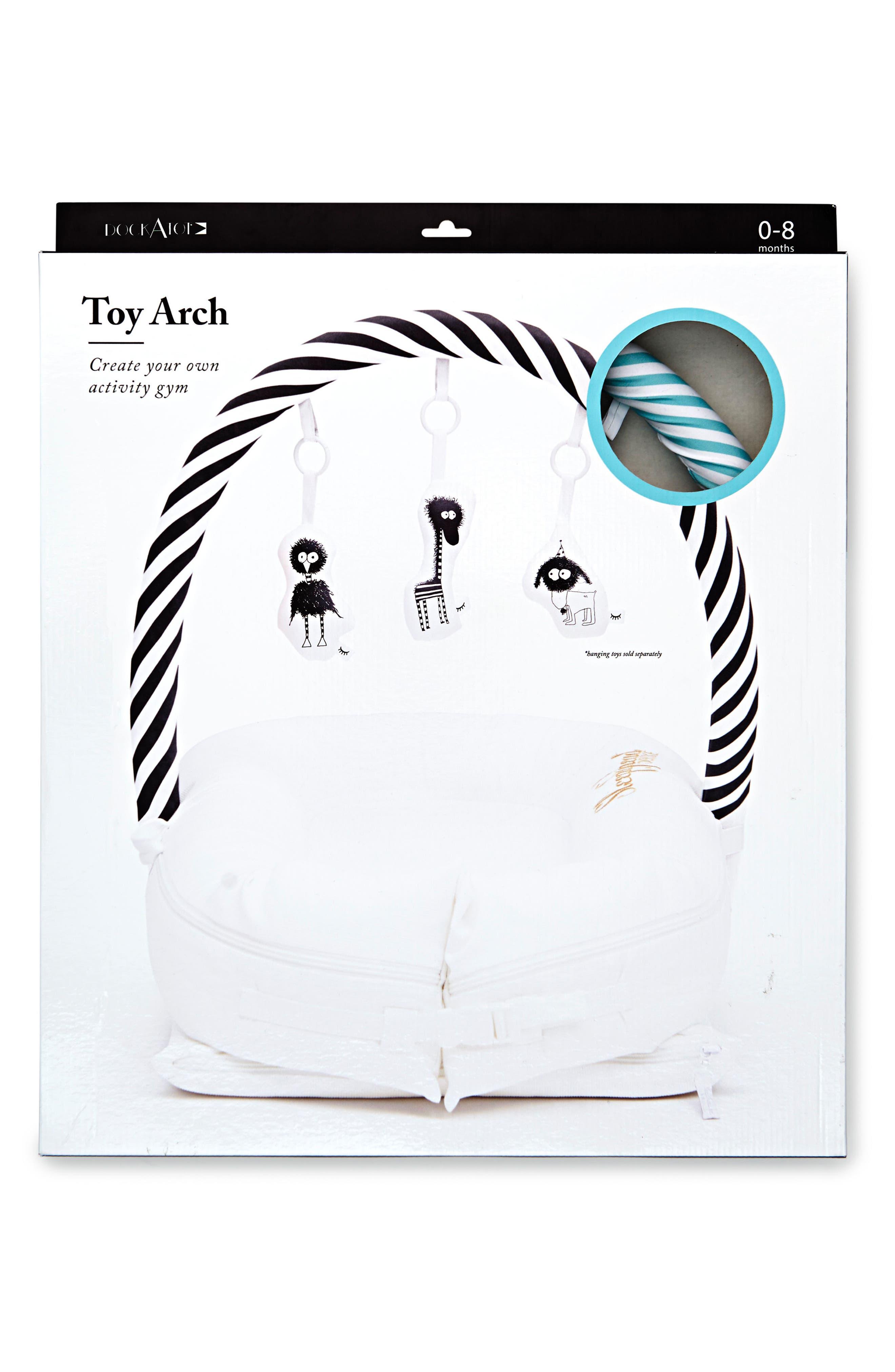 Toy Arch,                             Alternate thumbnail 5, color,                             Aqua/ White