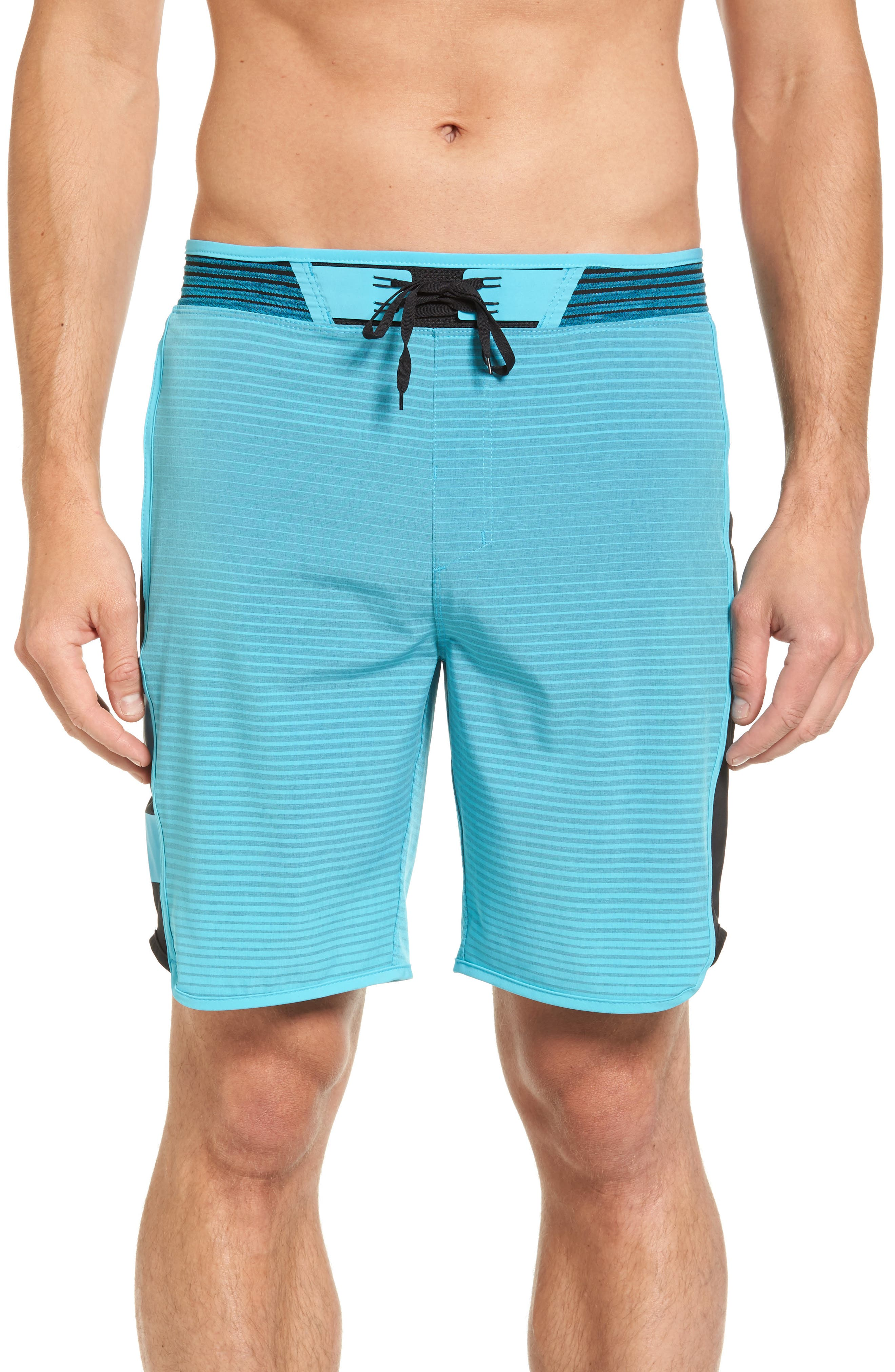 Hurley Phantom Hyperweave Motion Stripe Board Shorts