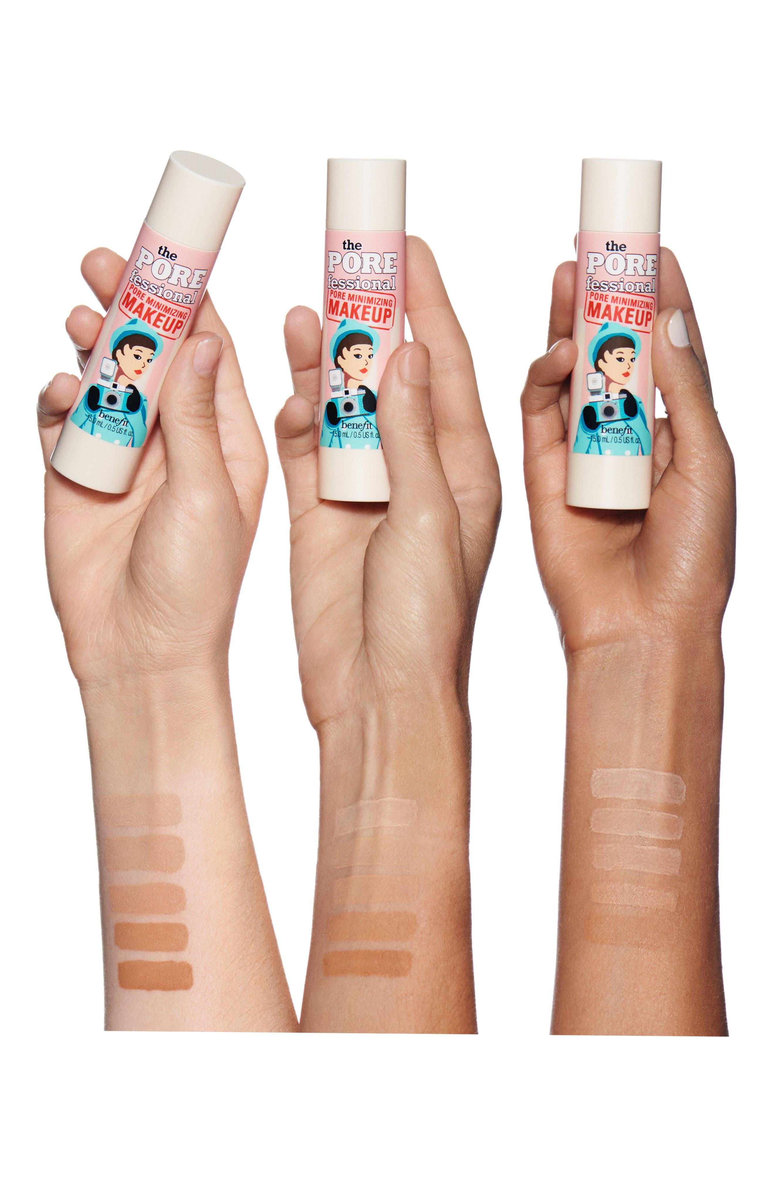 Benefit The POREfessional Pore Minimizing Makeup,                             Alternate thumbnail 3, color,                             03 Light Medium