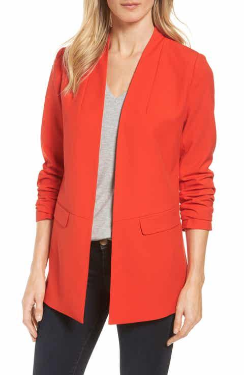 Red Coats & Jackets for Women | Nordstrom | Nordstrom