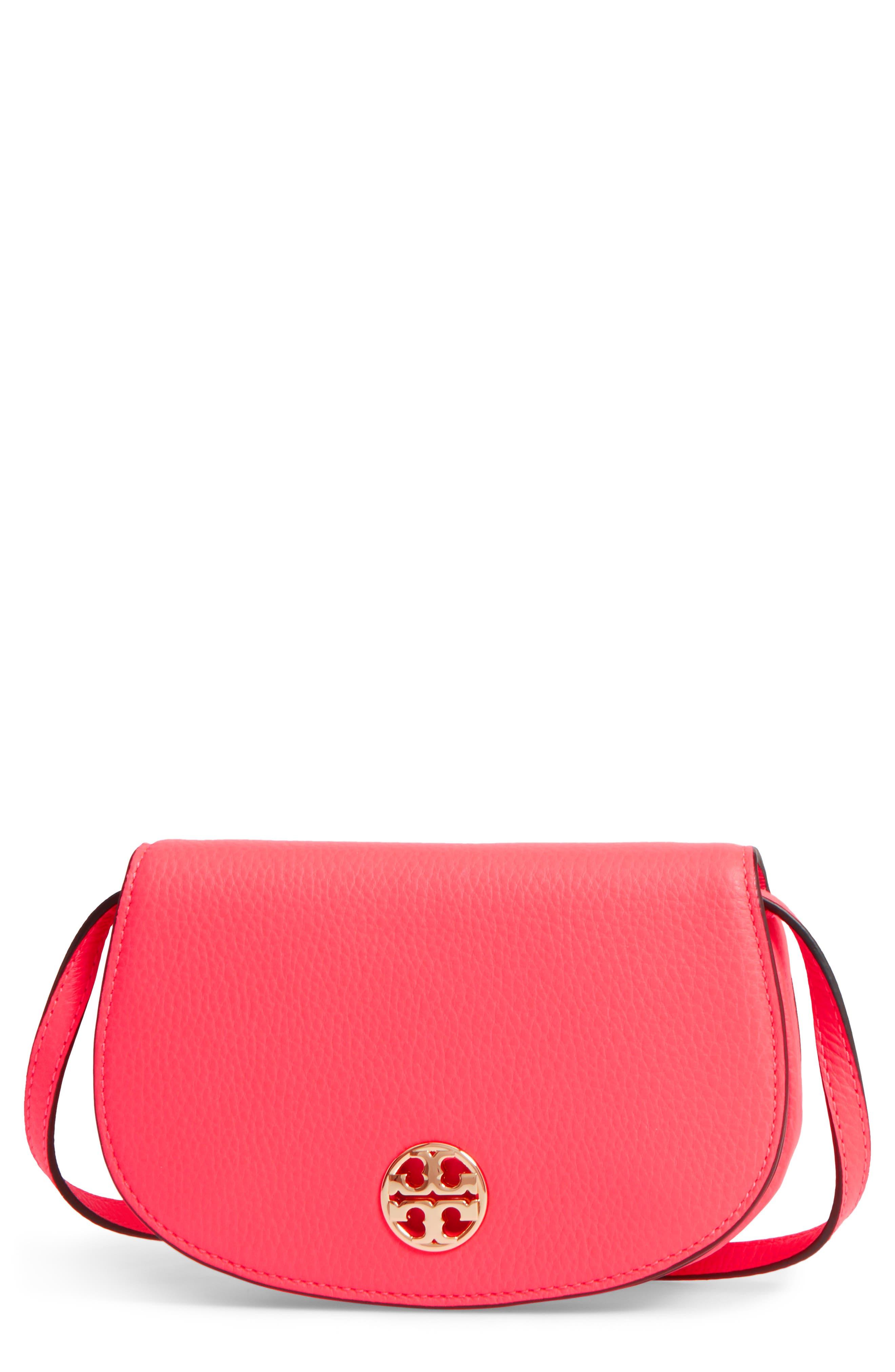 TORY BURCH Mini Jamie Leather Crossbody Bag