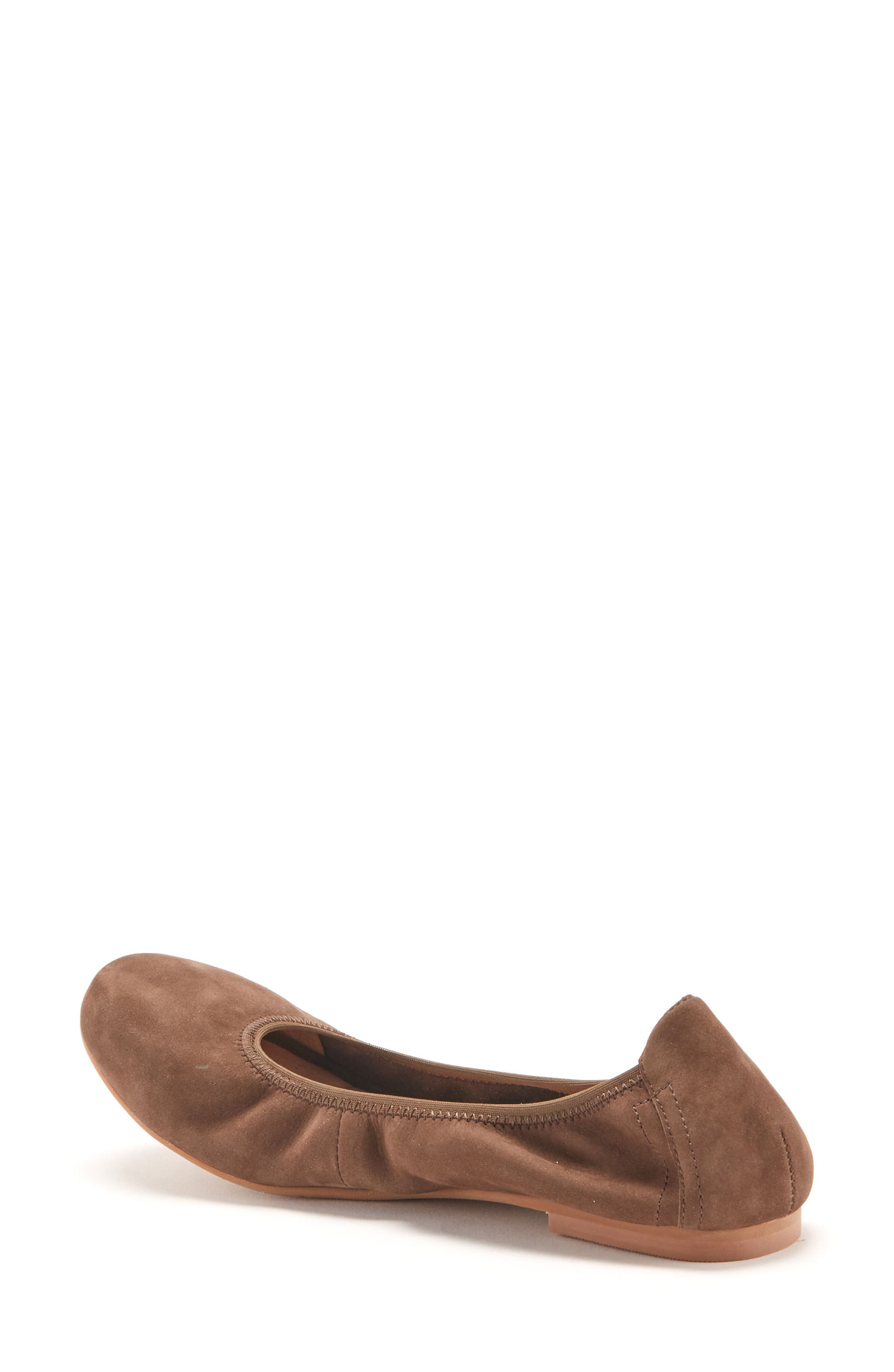 Becca Waterproof Flat,                             Alternate thumbnail 2, color,                             Taupe Nubuck Leather