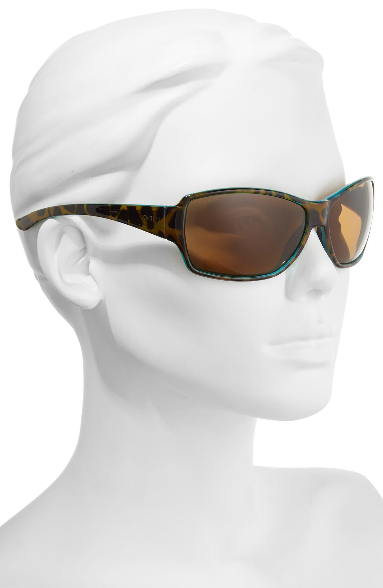 'Pace' 65mm ChromaPop<sup>™</sup> Polarized Sunglasses,                             Alternate thumbnail 2, color,                             Tortoise Marine