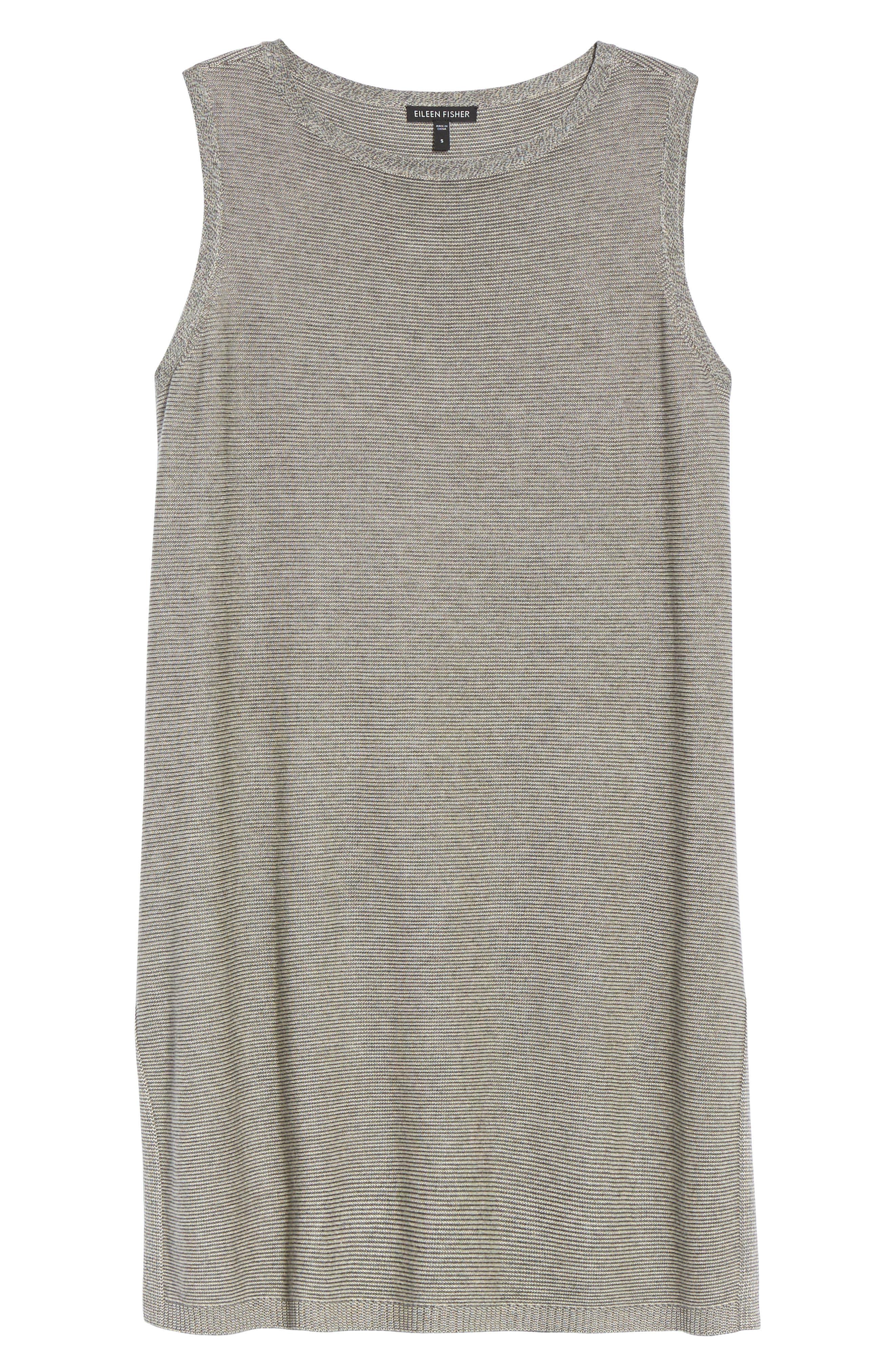 Alternate Image 6  - Eileen Fisher Tencel® & Merino Wool Tunic (Regular & Petite)