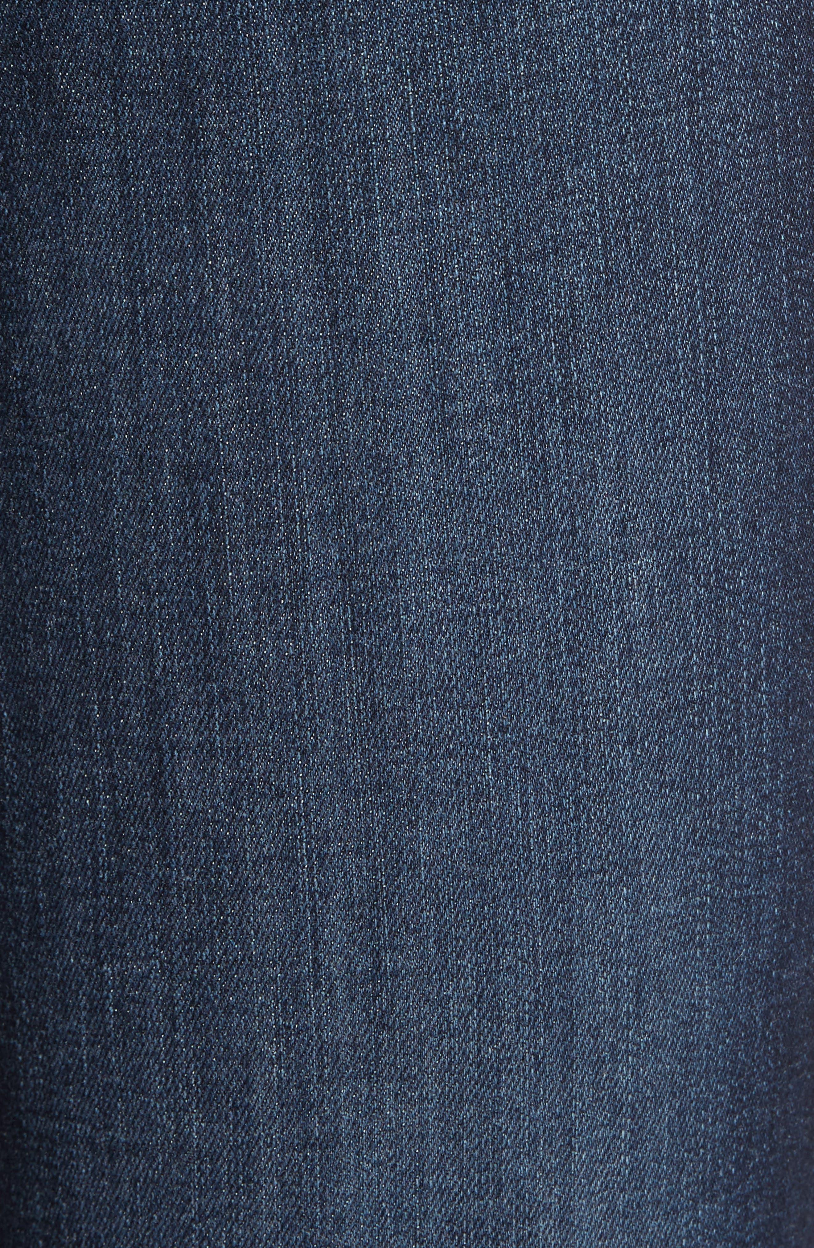 Alternate Image 6  - PAIGE Hoxton High Waist Ankle Skinny Jeans (Revere)
