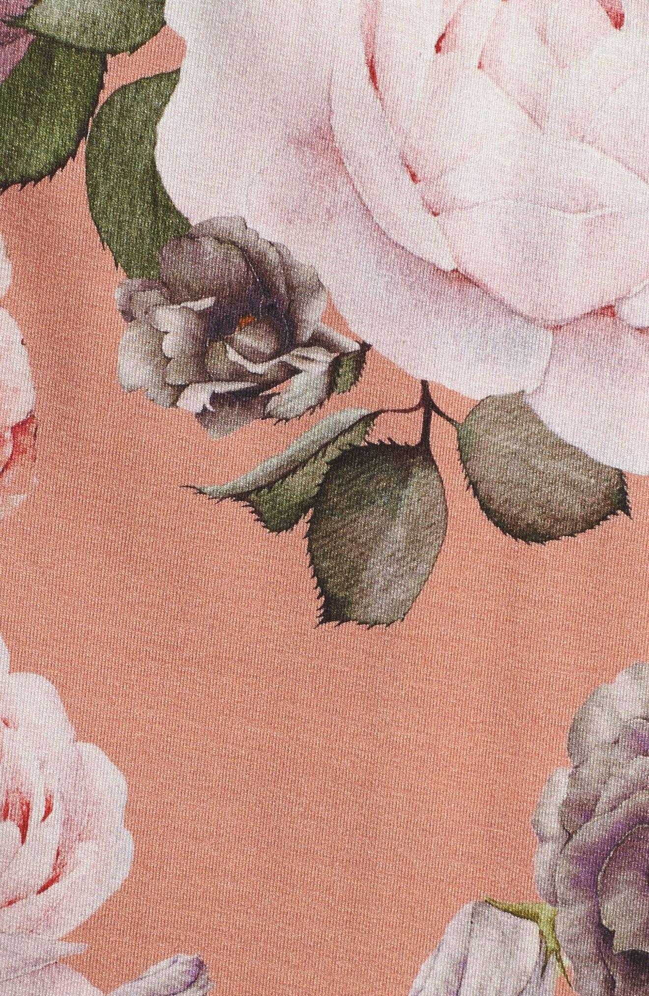 Rochelle Wrap,                             Alternate thumbnail 5, color,                             Rose