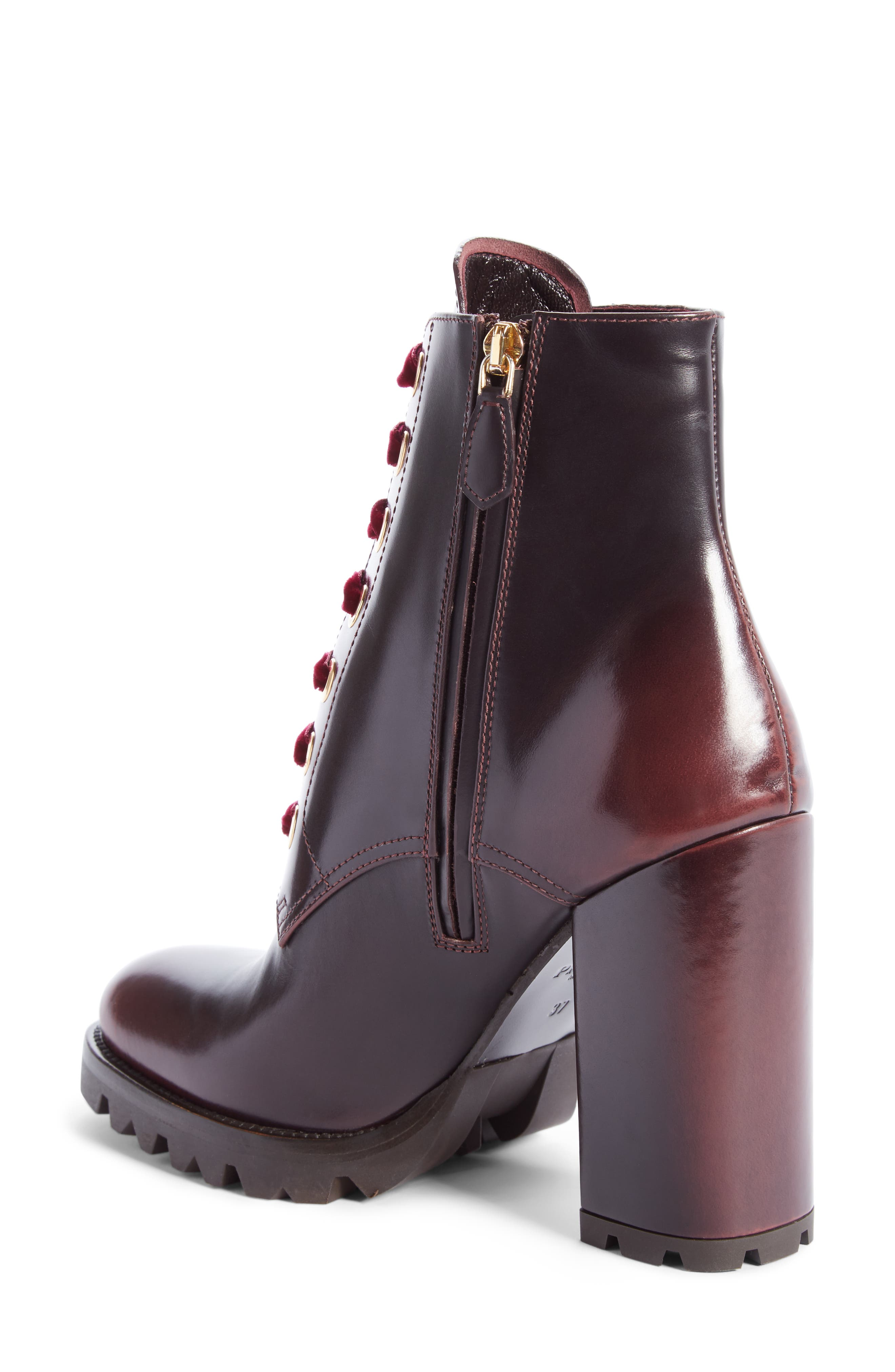 Lace-Up Boot,                             Alternate thumbnail 2, color,                             Brown