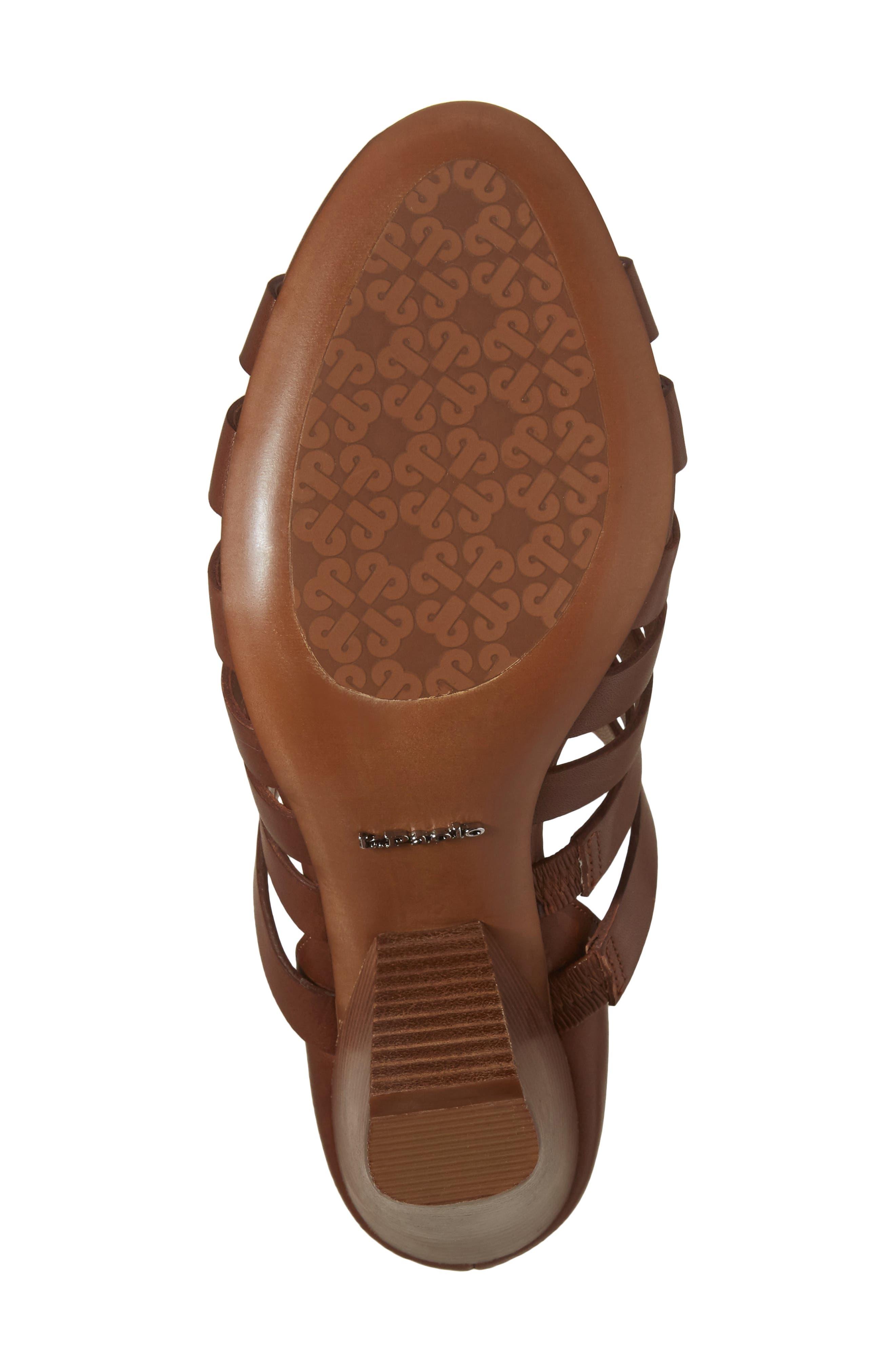 Alternate Image 6  - Linea Paolo Pierce Chisel Heel Cage Sandal (Women)