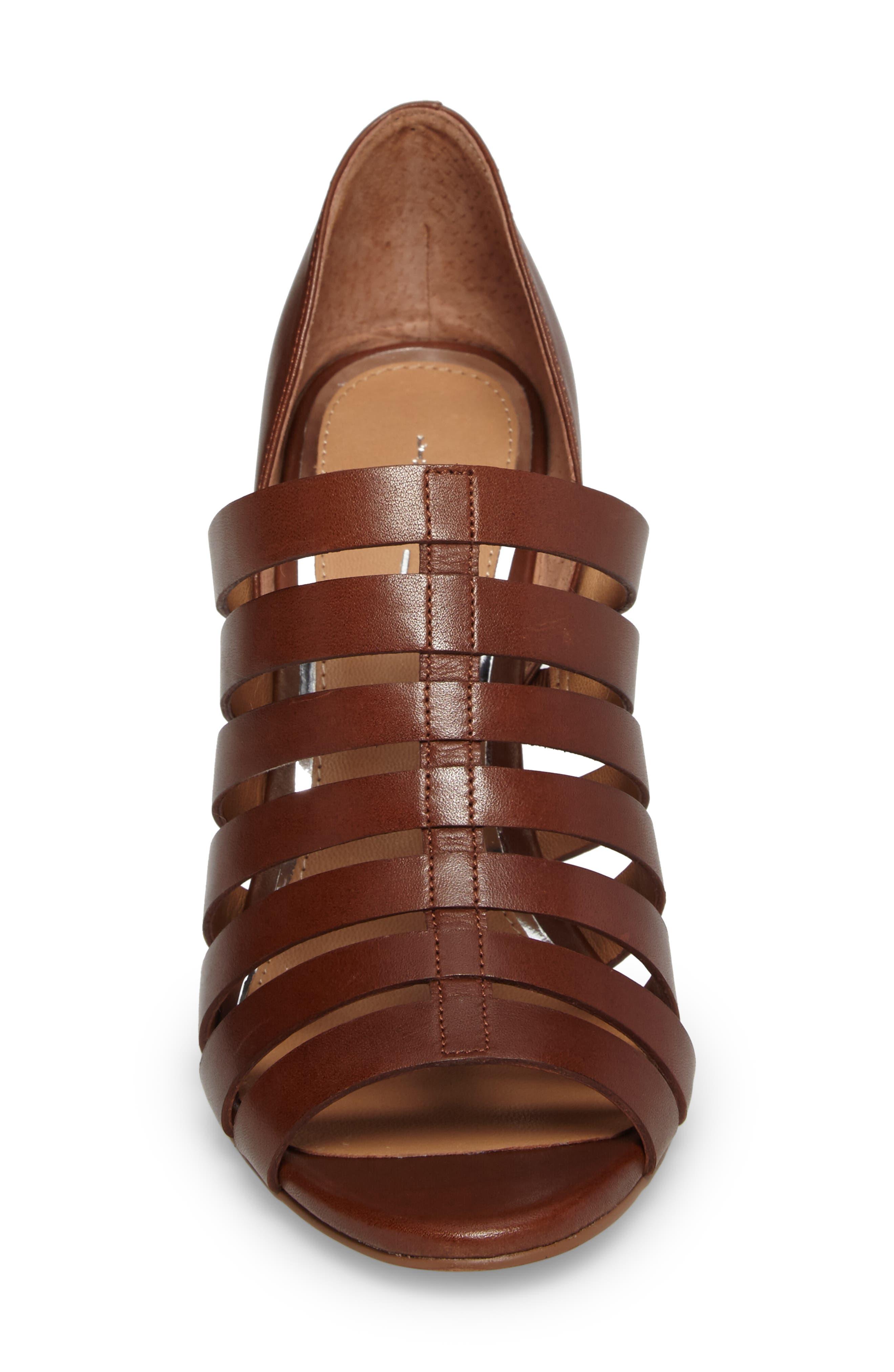 Alternate Image 4  - Linea Paolo Pierce Chisel Heel Cage Sandal (Women)