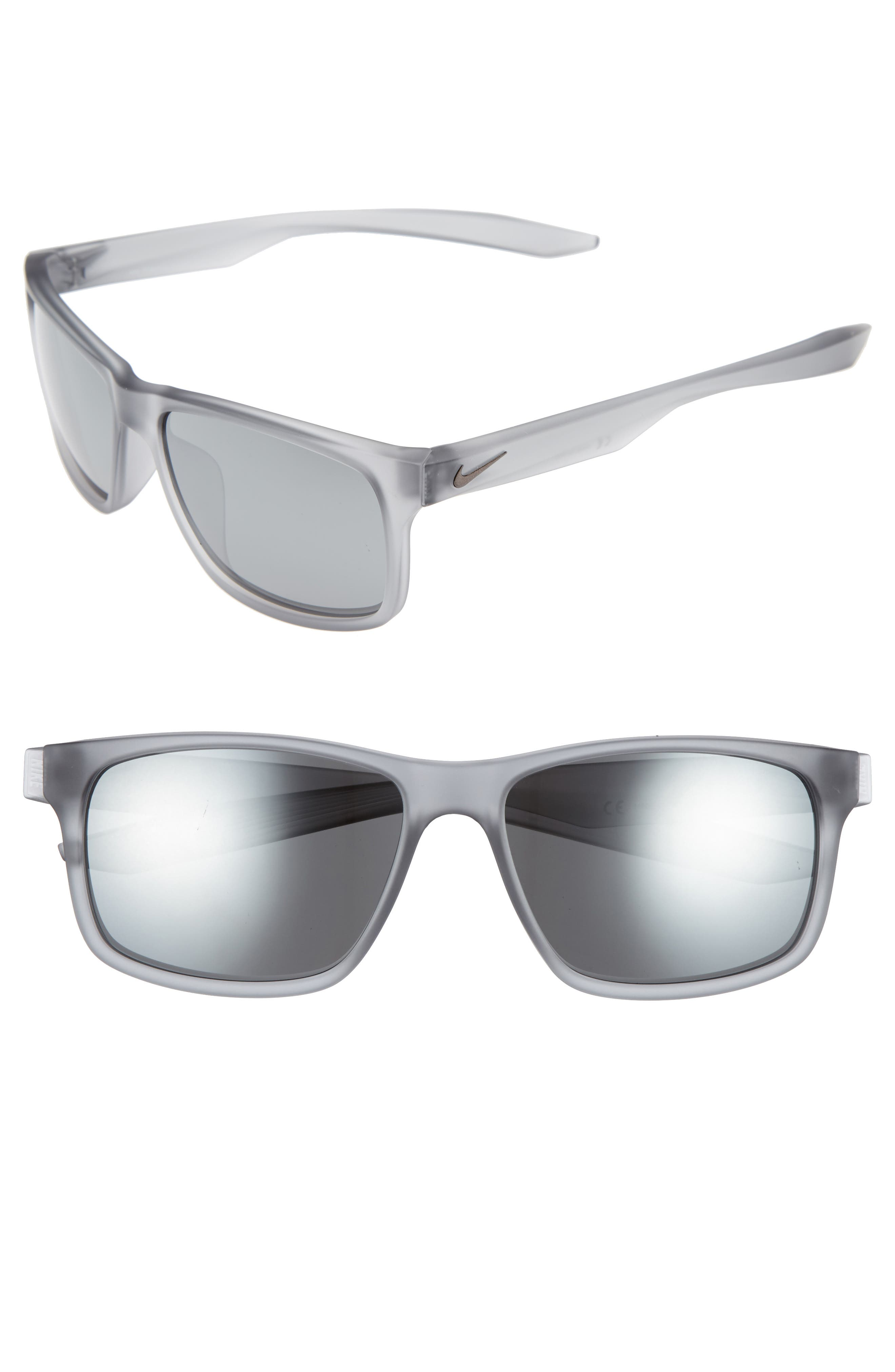 fb193d4ffce Nike Essential Chaser 59Mm Sunglasses - Matte Wolf Grey