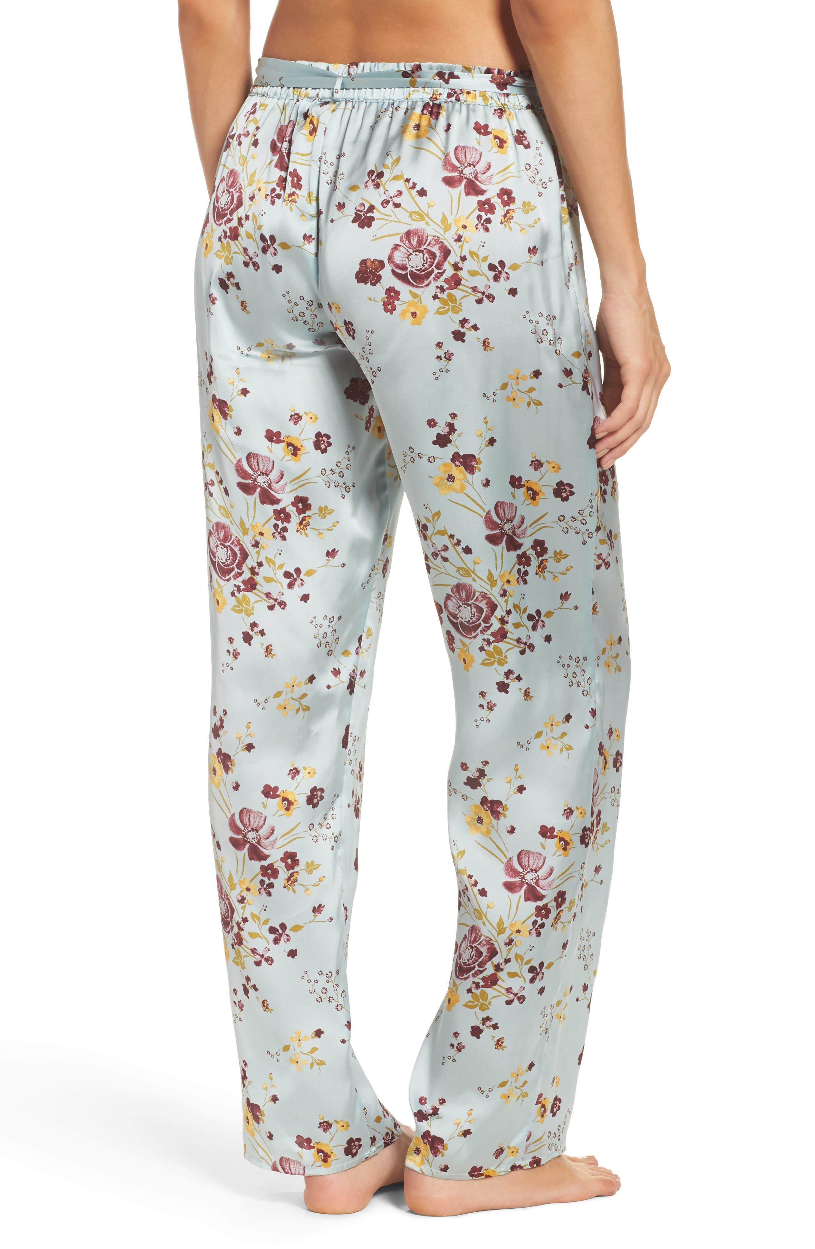In My Dreams Pajama Pants,                             Alternate thumbnail 2, color,                             Blue Cloud Pretty Floral