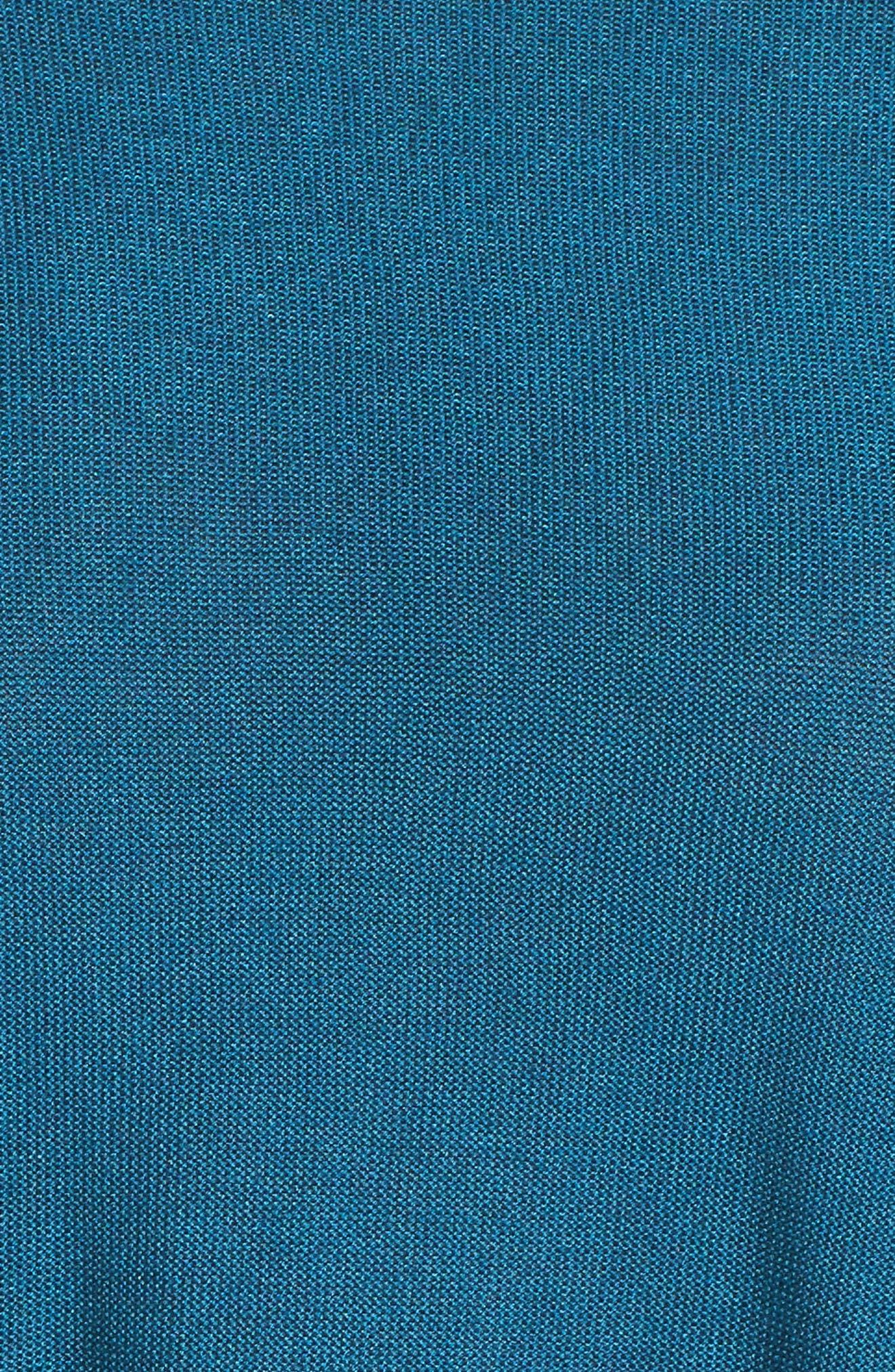 Tencel<sup>®</sup> & Merino Wool Top,                             Alternate thumbnail 5, color,                             Nile