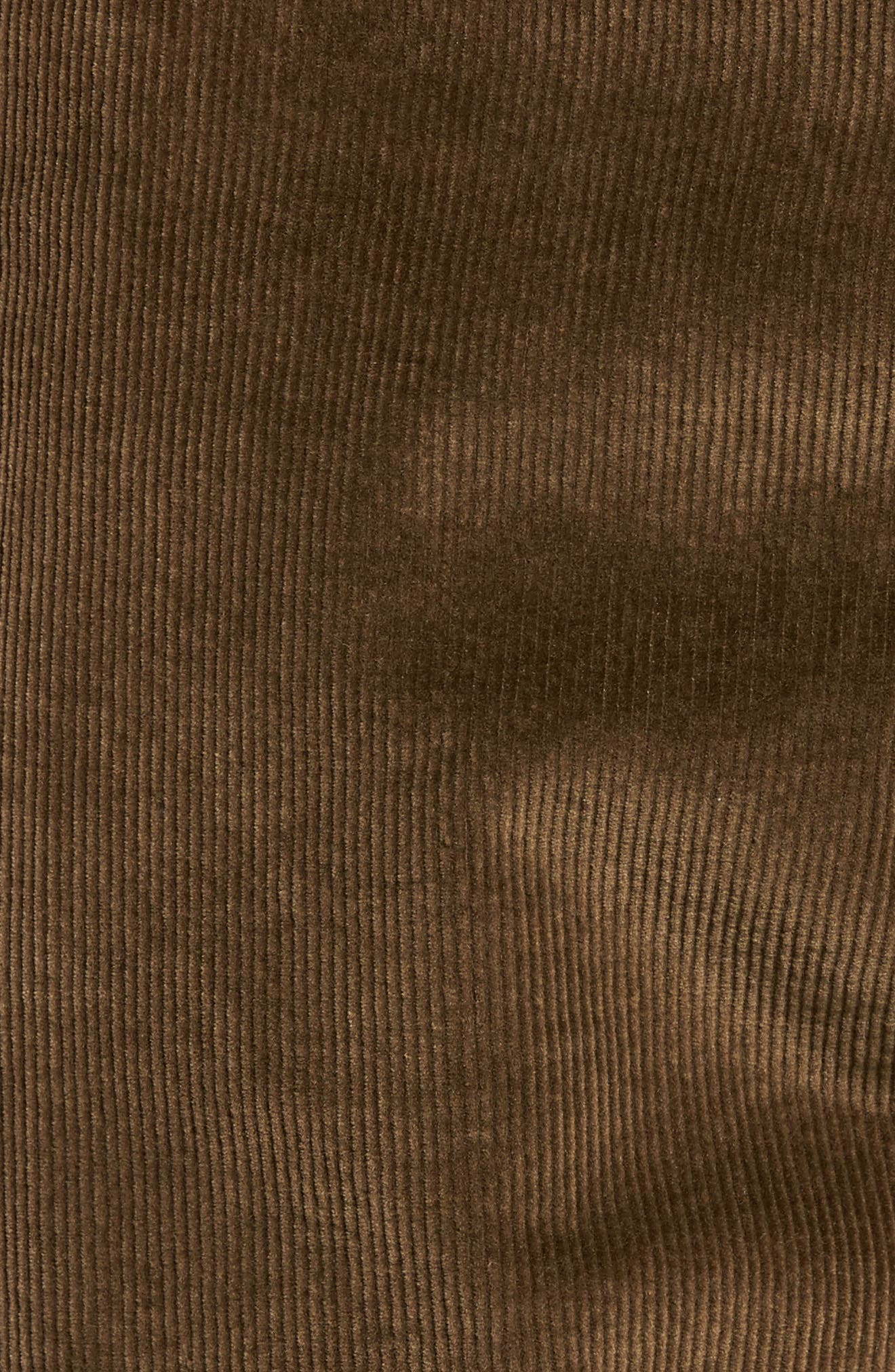 Outsider Corduroy Shorts,                             Alternate thumbnail 5, color,                             Brown