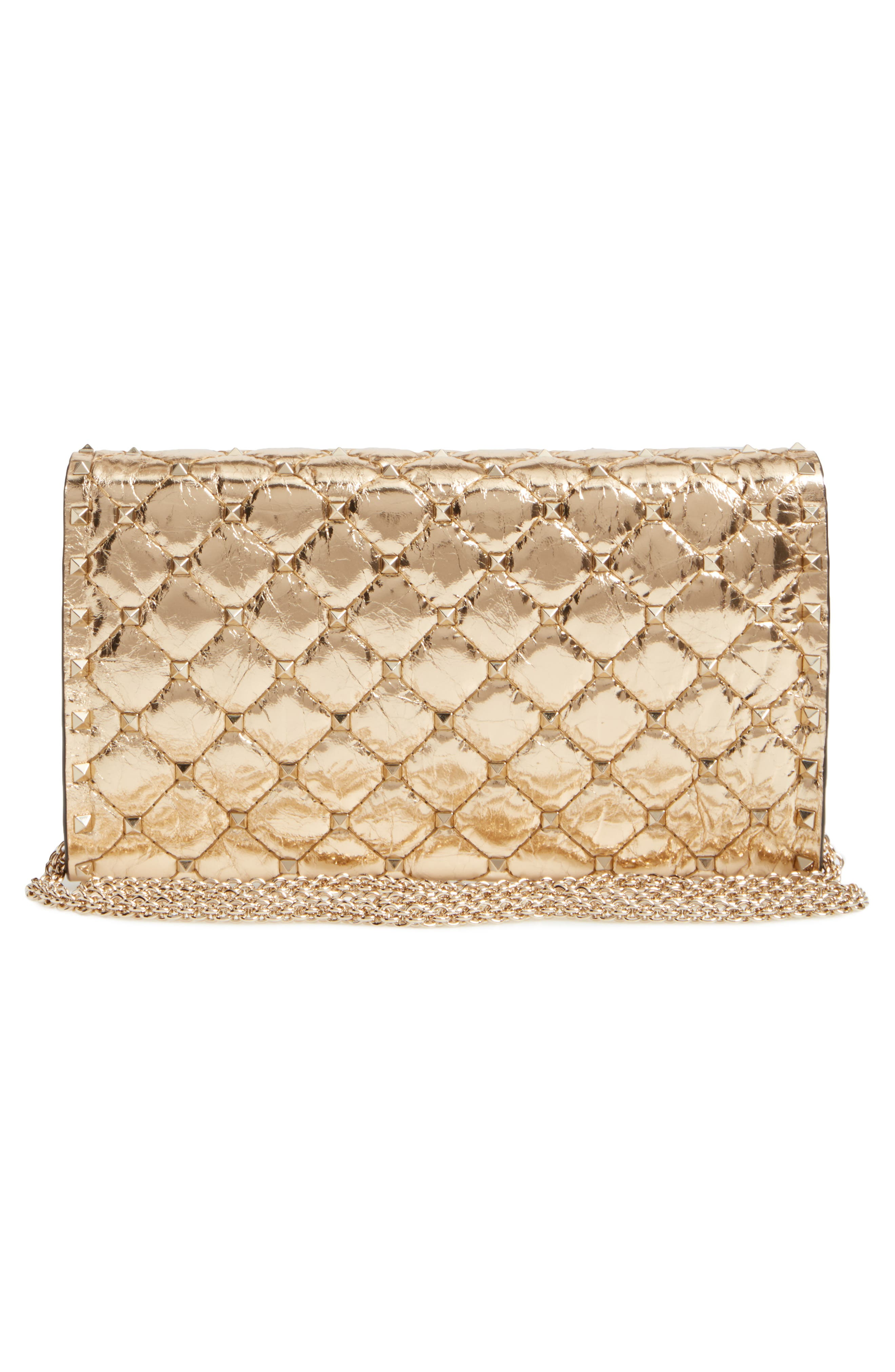 Rockstud Spike Wallet on a Chain,                             Alternate thumbnail 2, color,                             Mekong