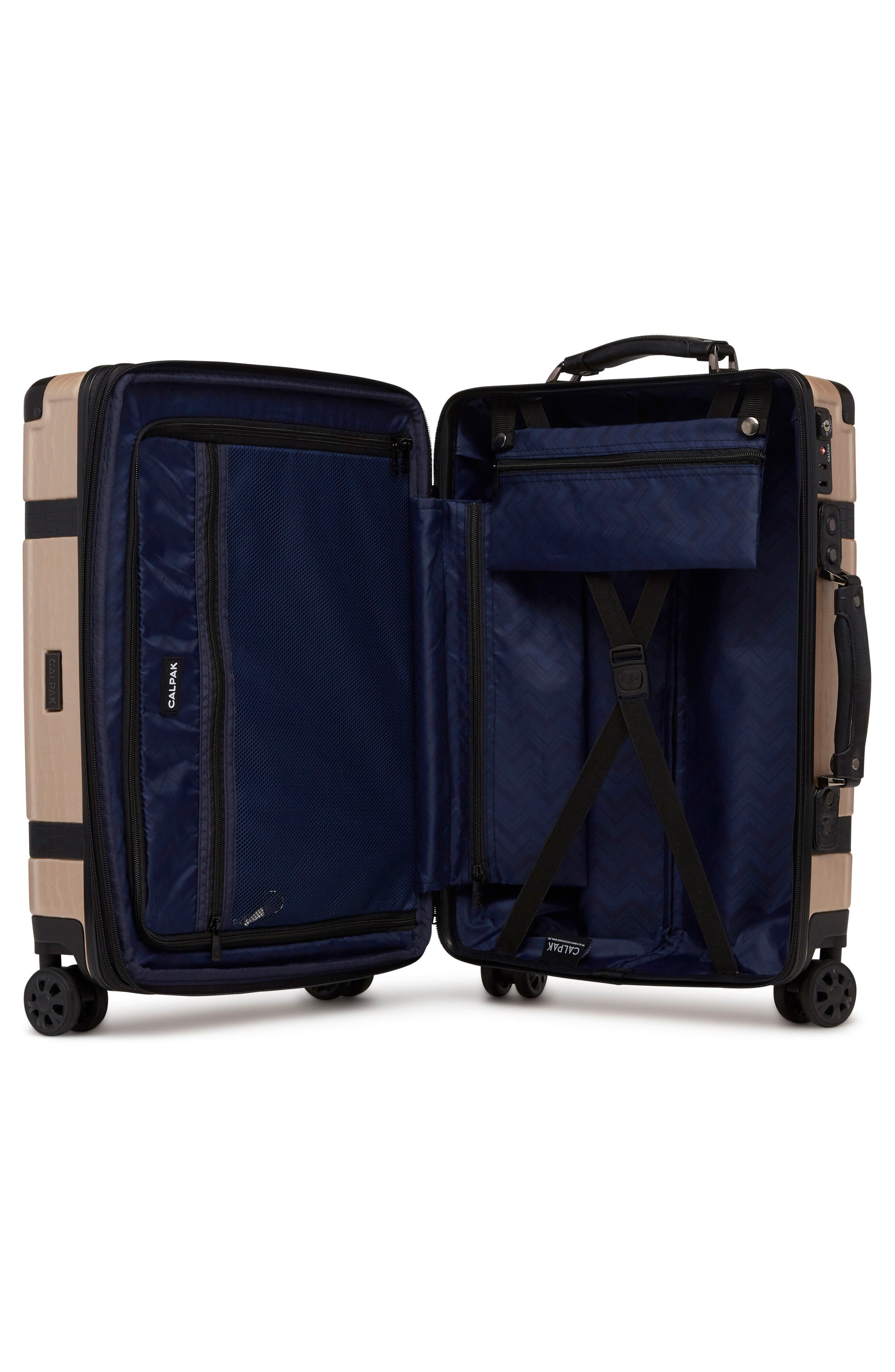 20-Inch & 28-Inch Trunk Rolling Luggage Set,                             Alternate thumbnail 3, color,                             Nude