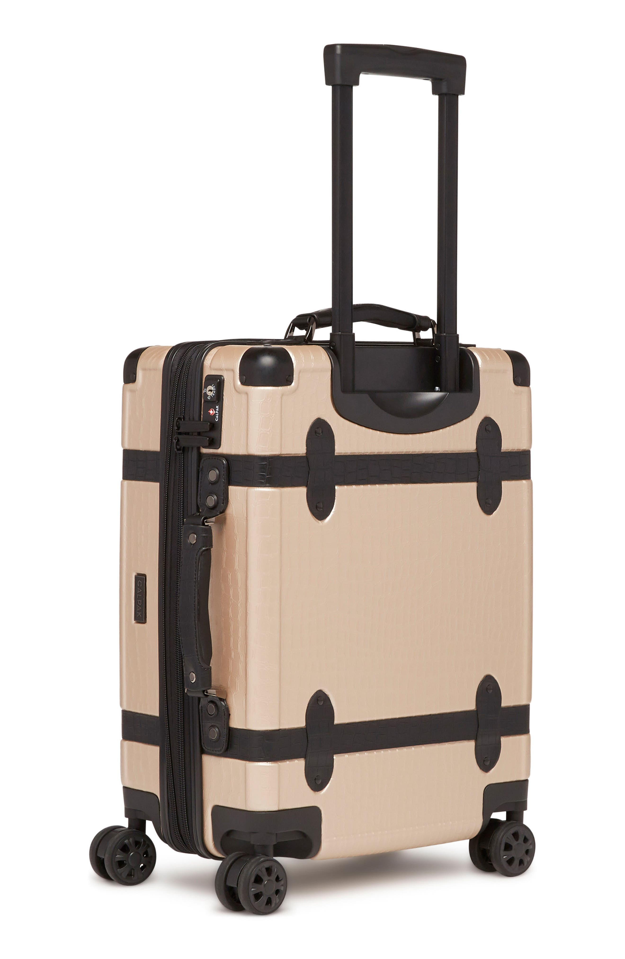 20-Inch & 28-Inch Trunk Rolling Luggage Set,                             Alternate thumbnail 5, color,                             Nude