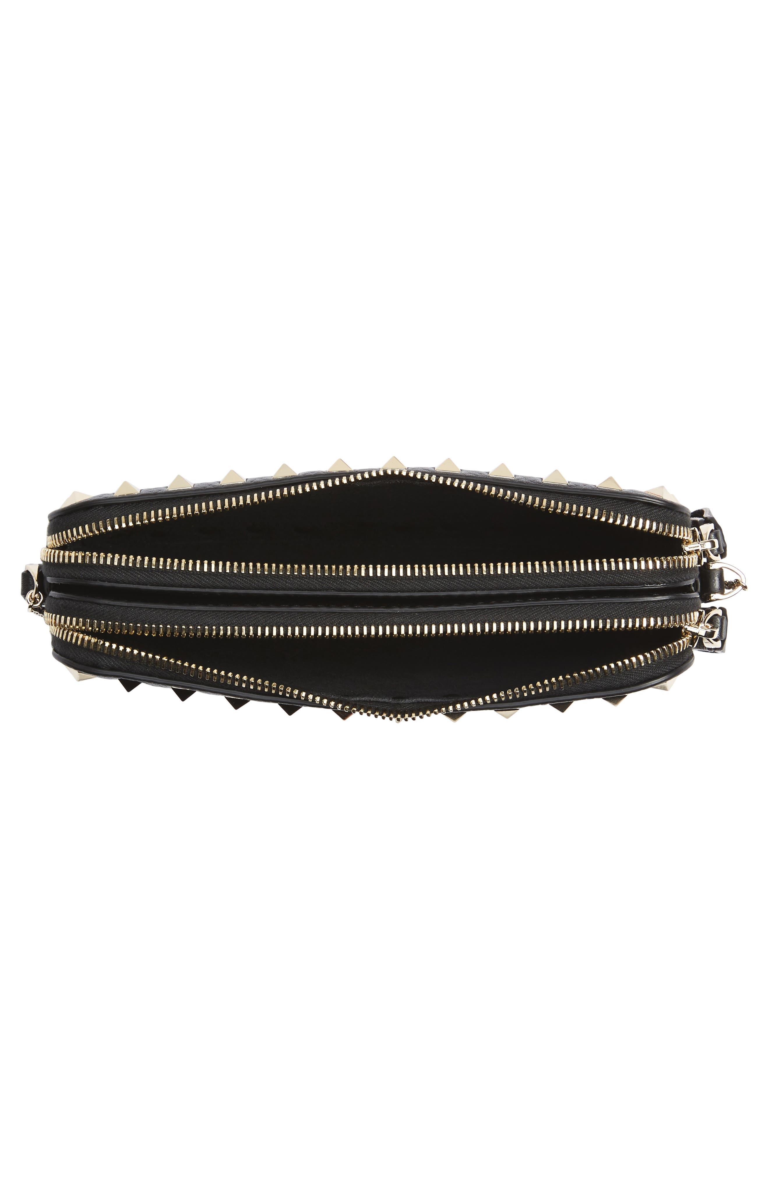 Alternate Image 4  - VALENTINO GARAVANI Rockstud Leather Crossbody Bag