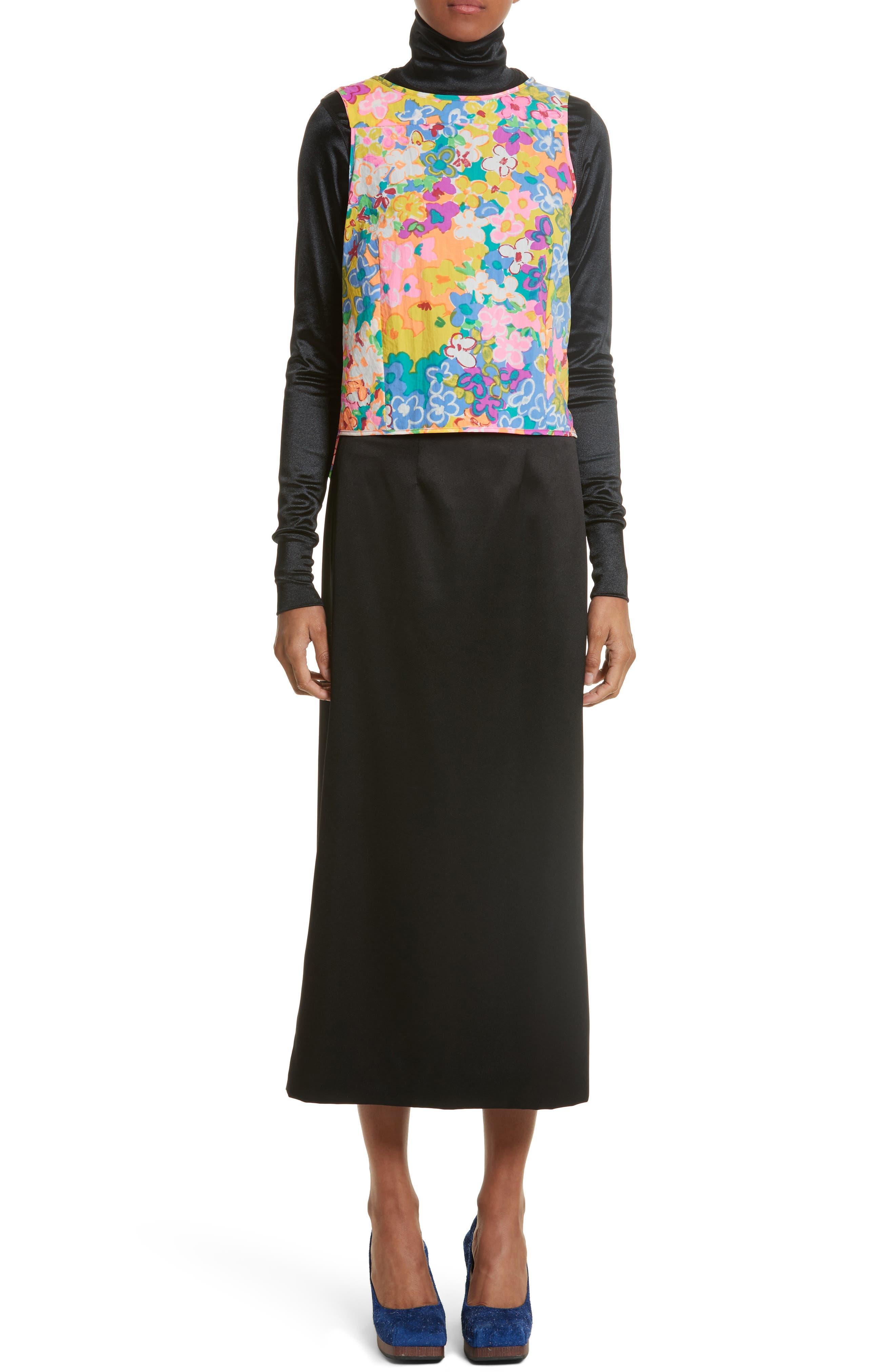 Alternate Image 8  - Eckhaus Latta Side Zip Midi Skirt