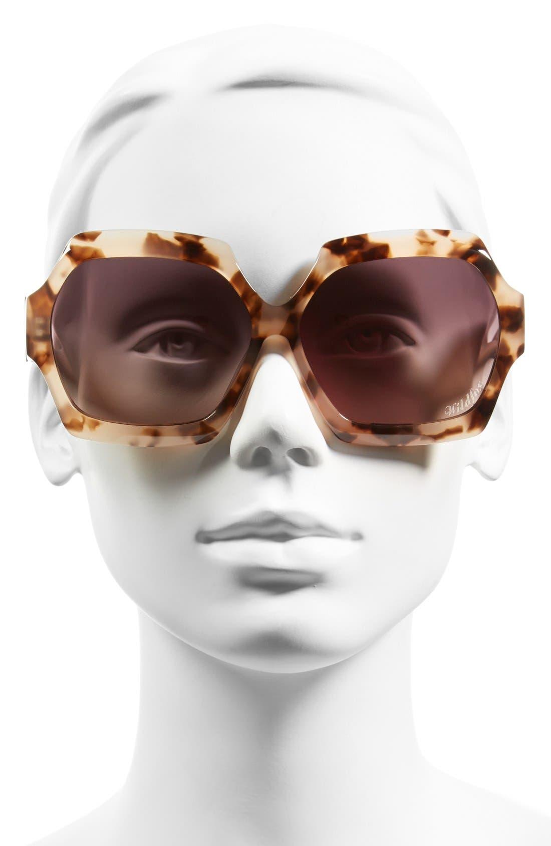 Alternate Image 2  - Wildfox 'Riviera' 65mm Sunglasses