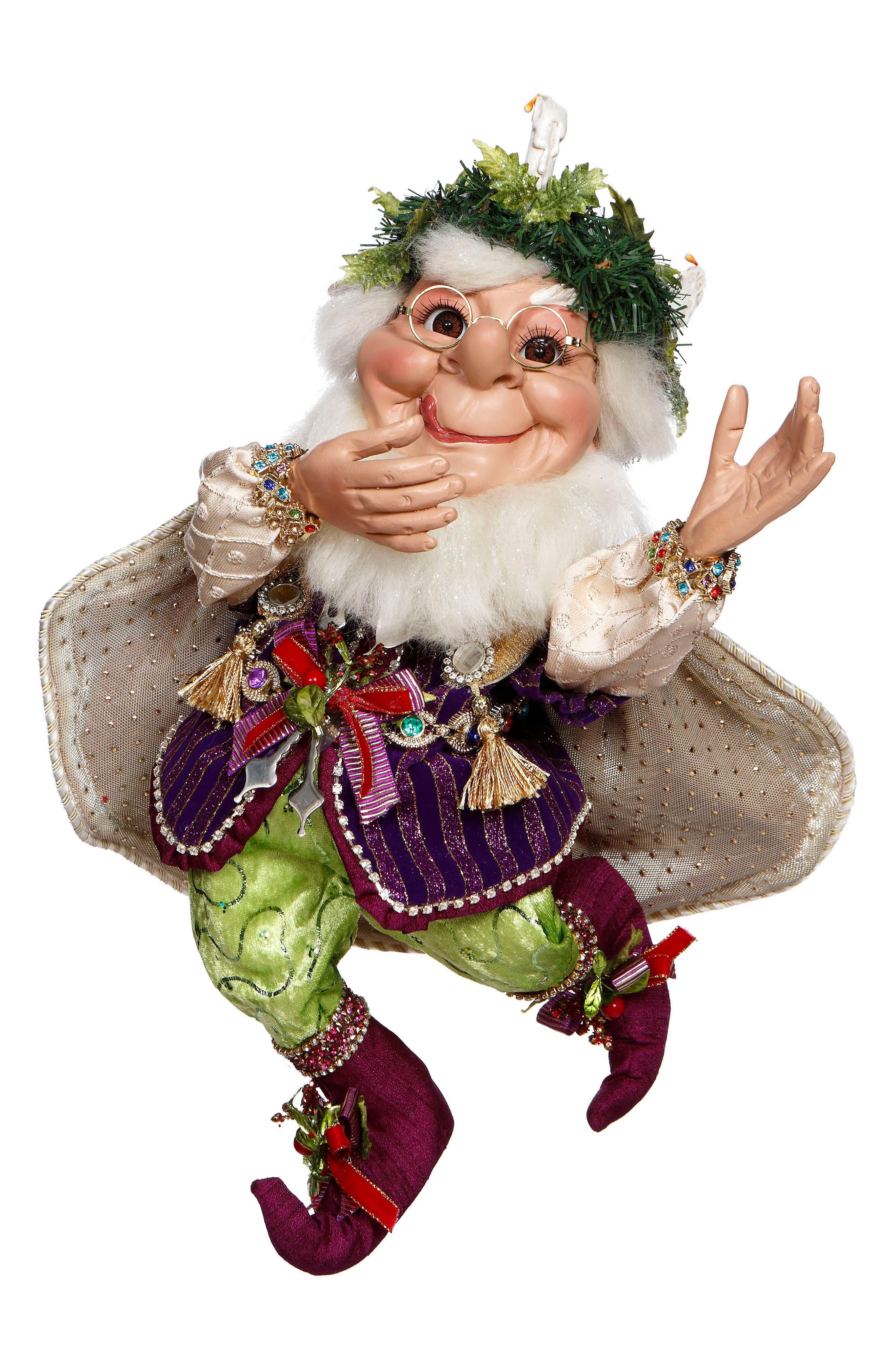 Christmas Feast Elf,                             Main thumbnail 1, color,                             Green