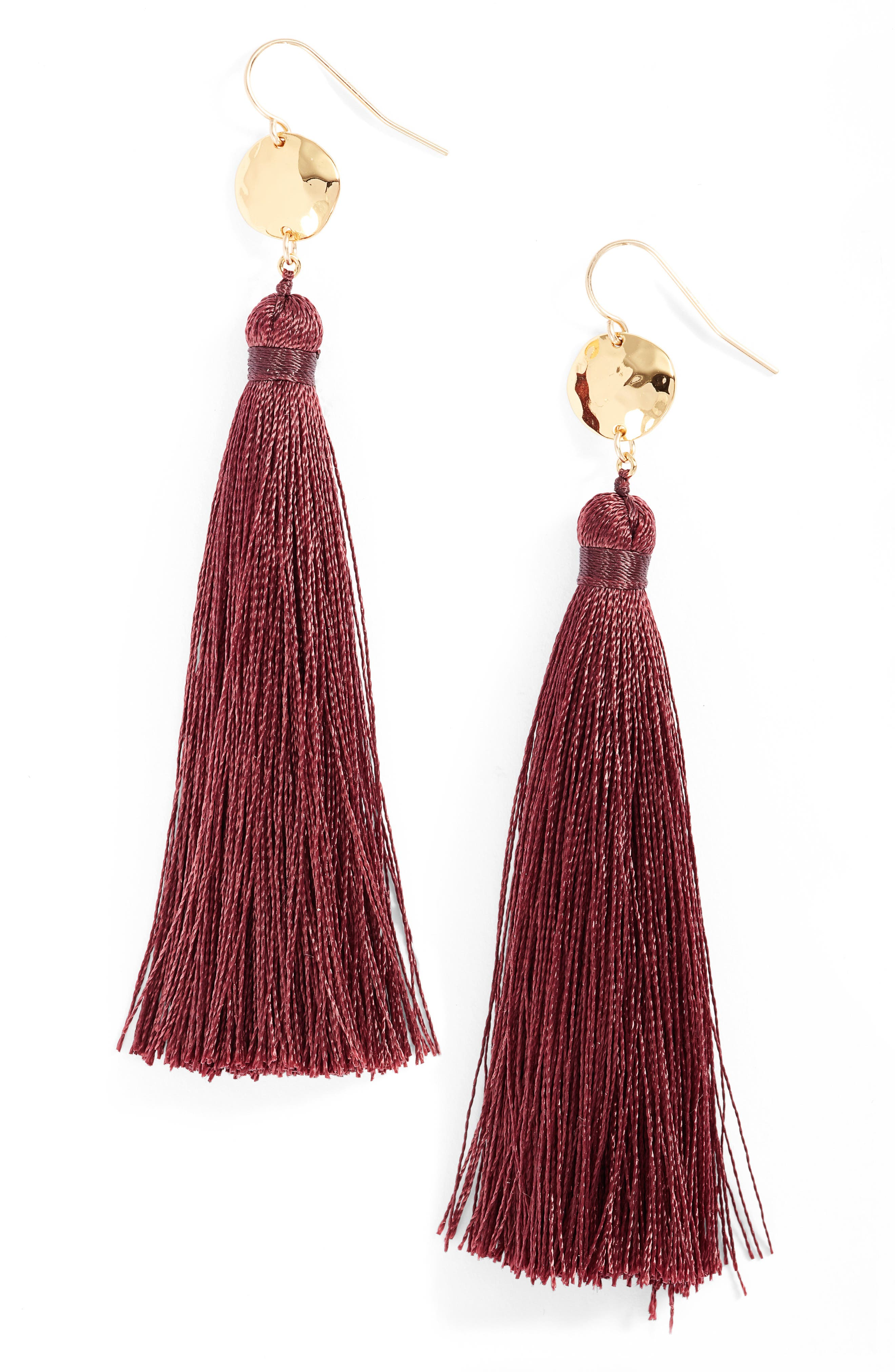 gorjana Leucadia Tassel Drop Earrings