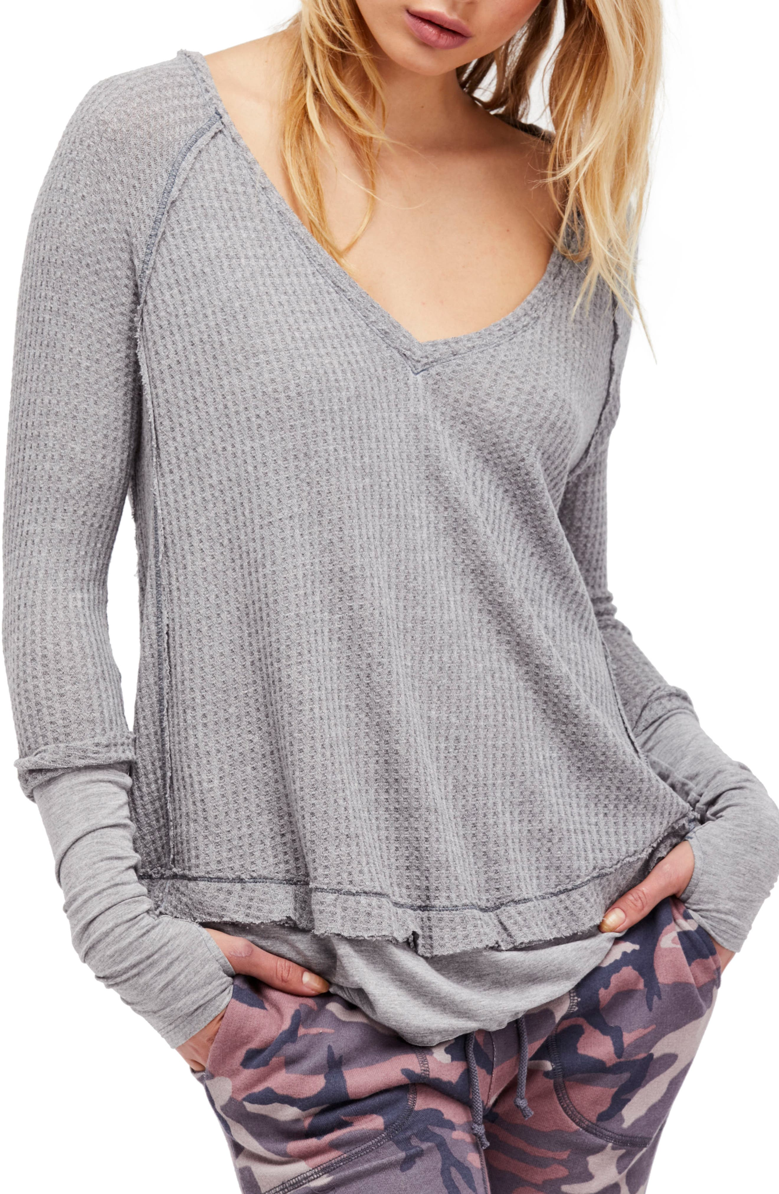Alternate Image 1 Selected - Free People Laguna Thermal Top