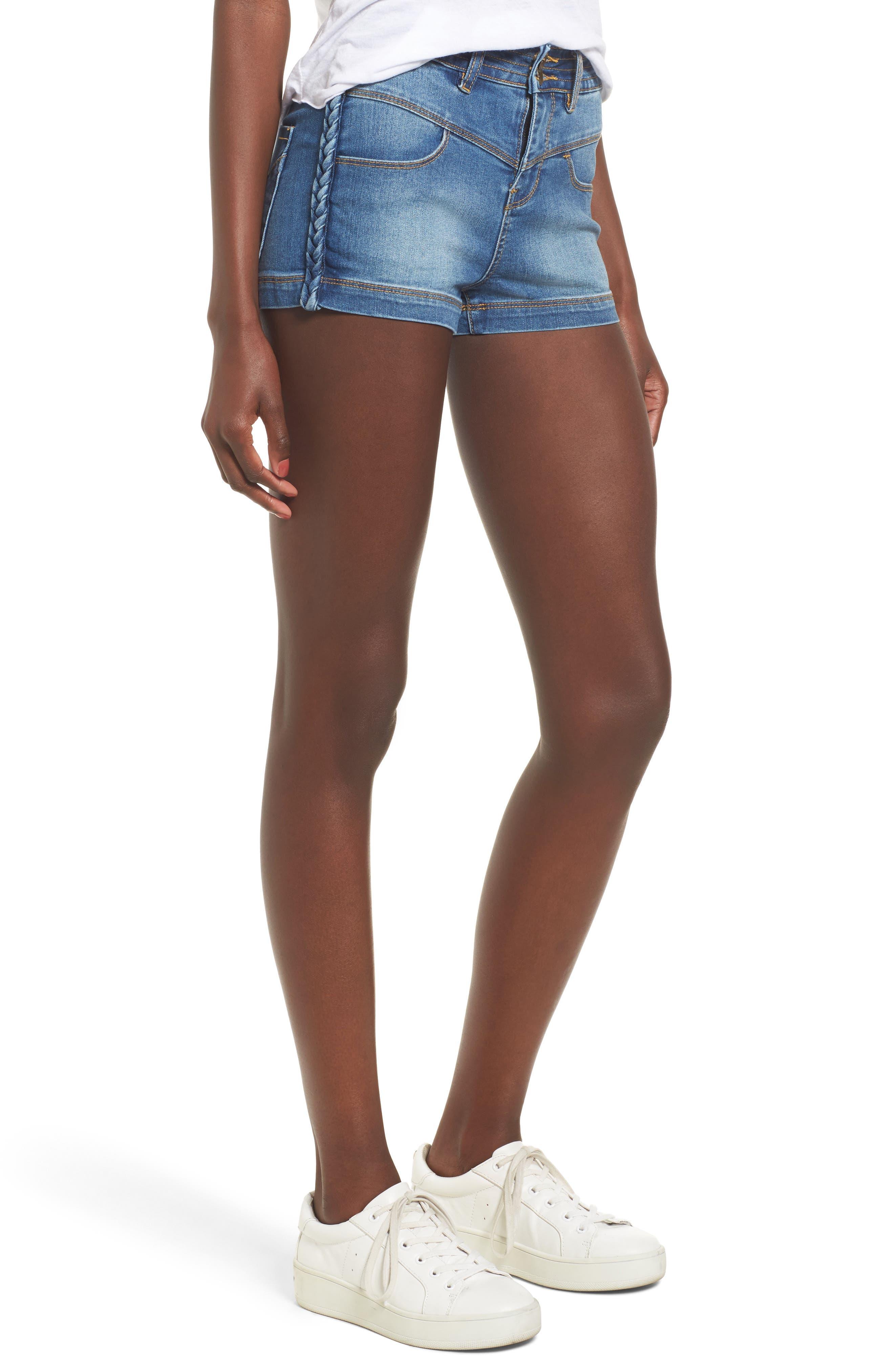 Main Image - O'Neill Dixy Denim Shorts (Derby Blue)