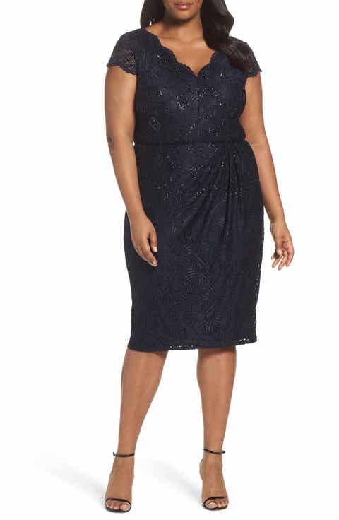 Women\'s Cocktail & Party Plus-Size Dresses
