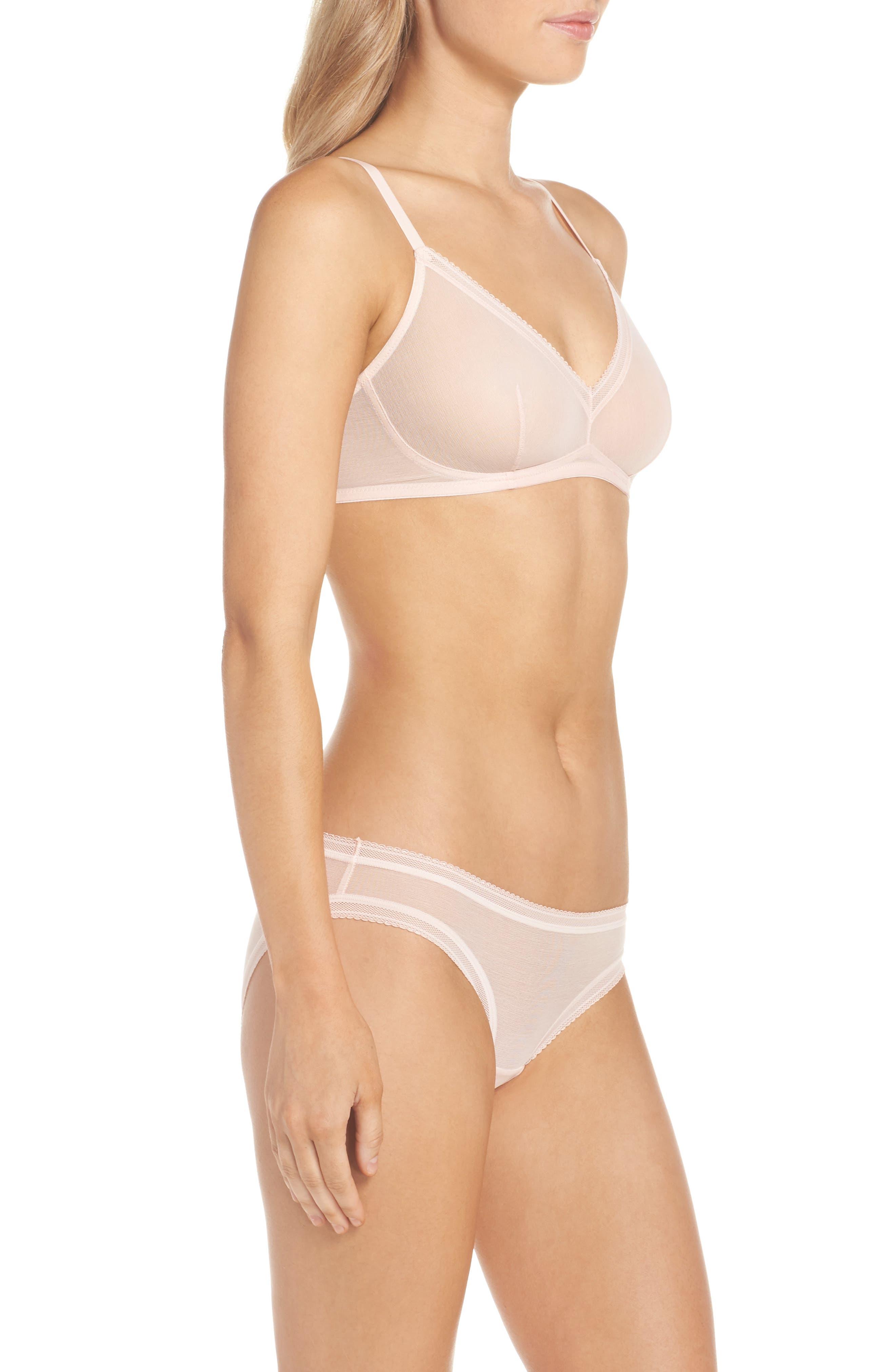 Alternate Image 7  - On Gossamer Mesh Bikini (3 for $45)