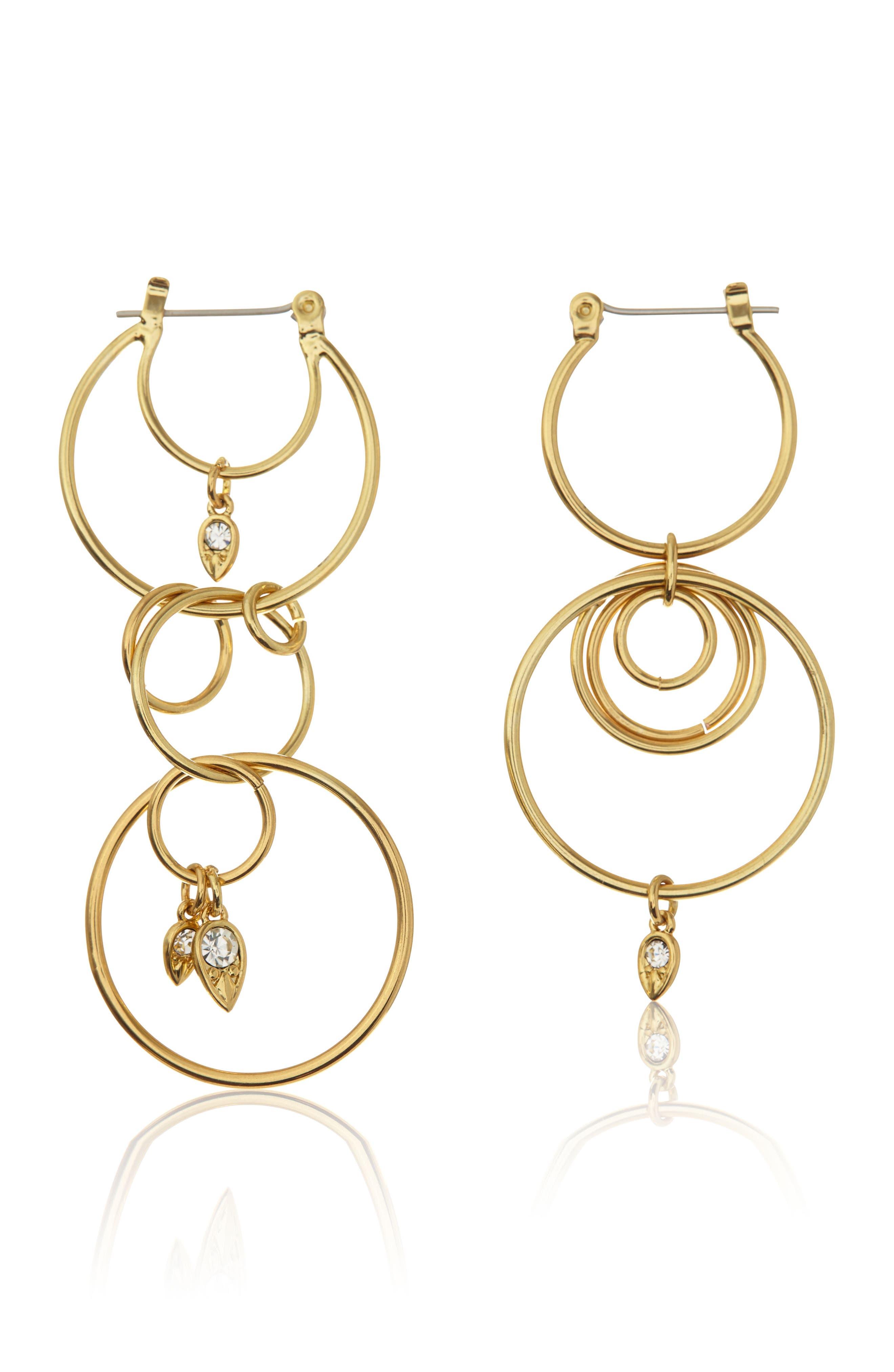 Main Image - Luv AJ Eclipse Hoop Earrings