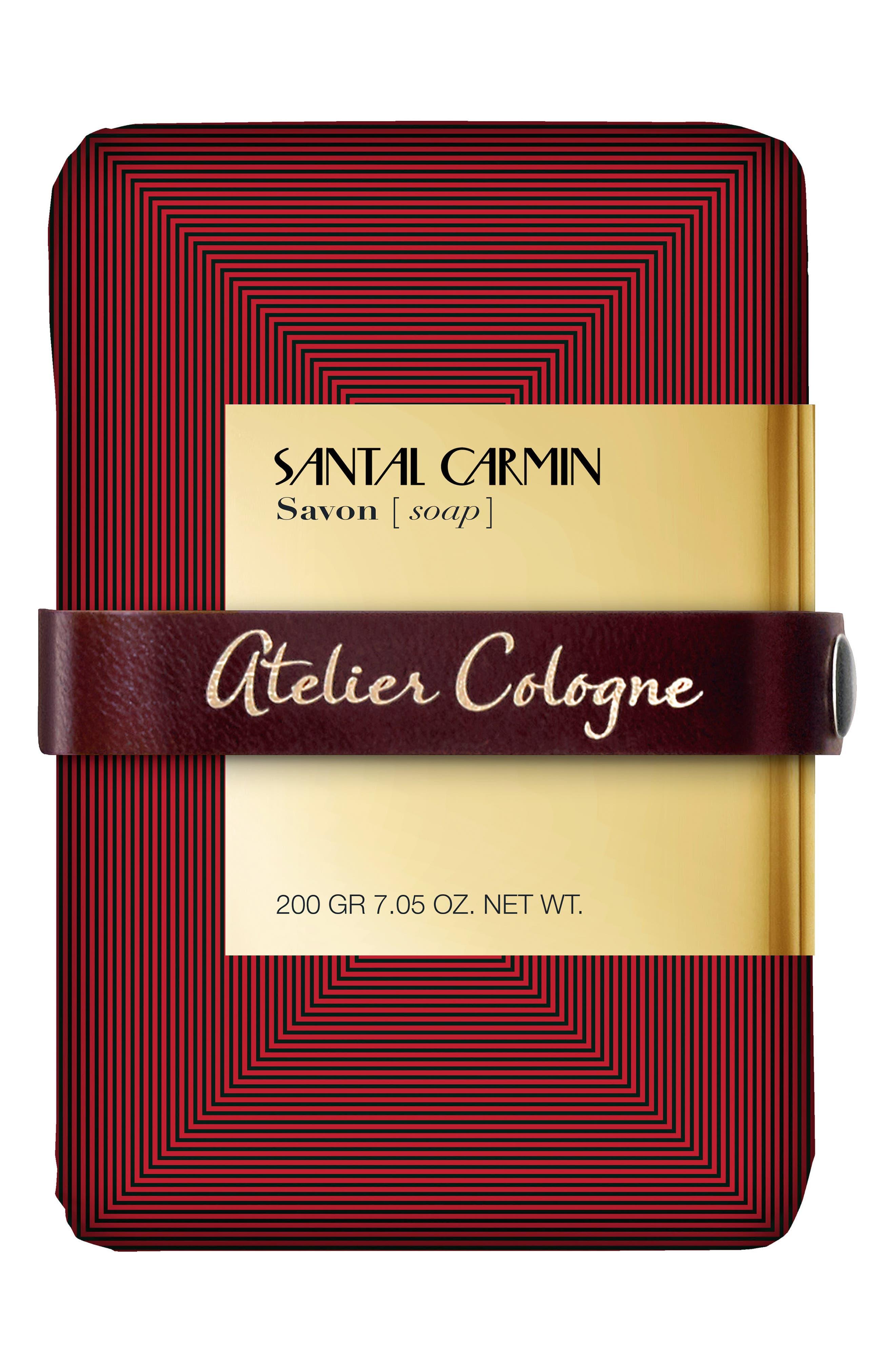 Santal Carmin Soap,                         Main,                         color, No Color