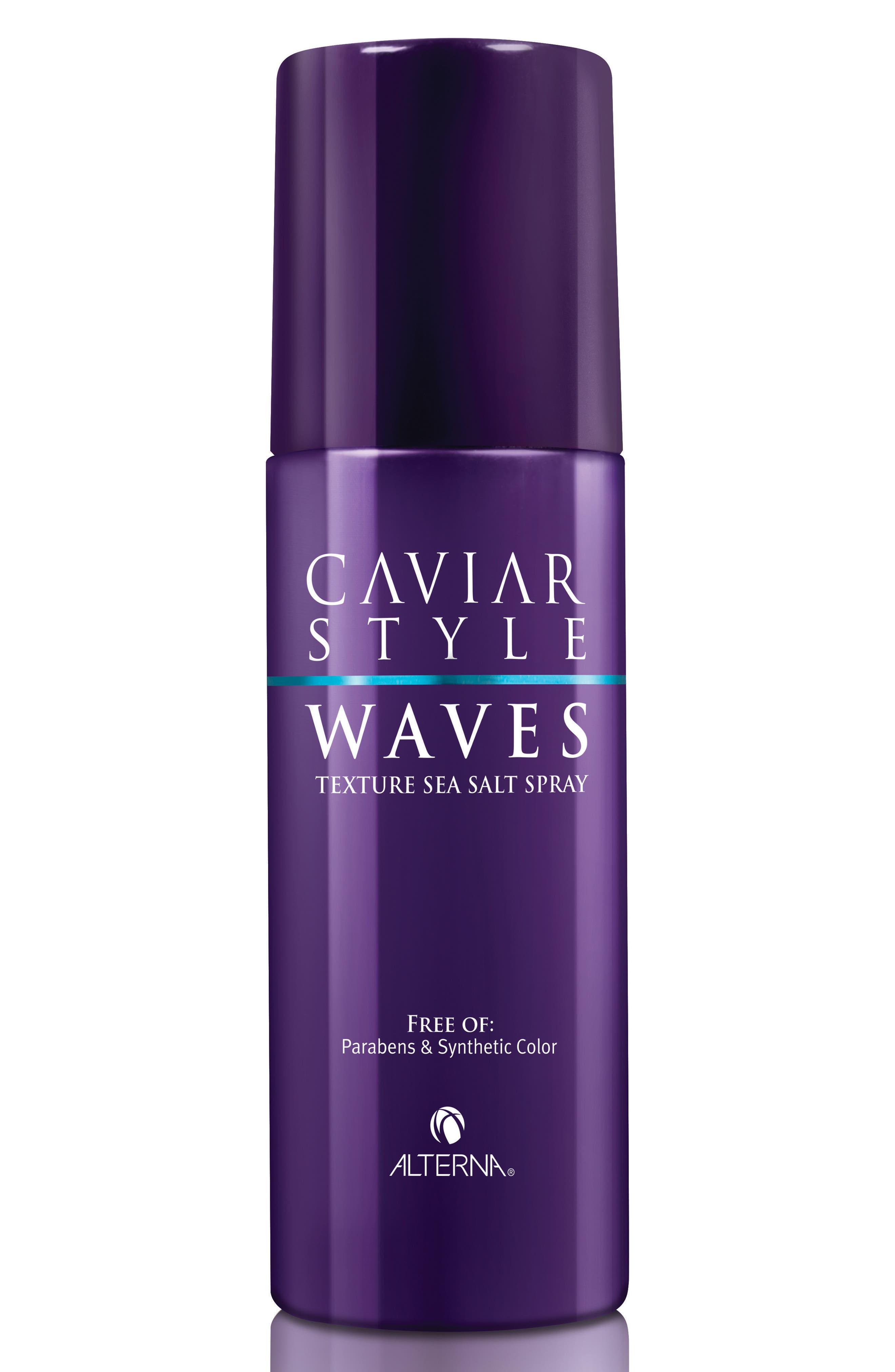 Caviar Style Waves Texture Sea Salt Spray,                         Main,                         color, No Color