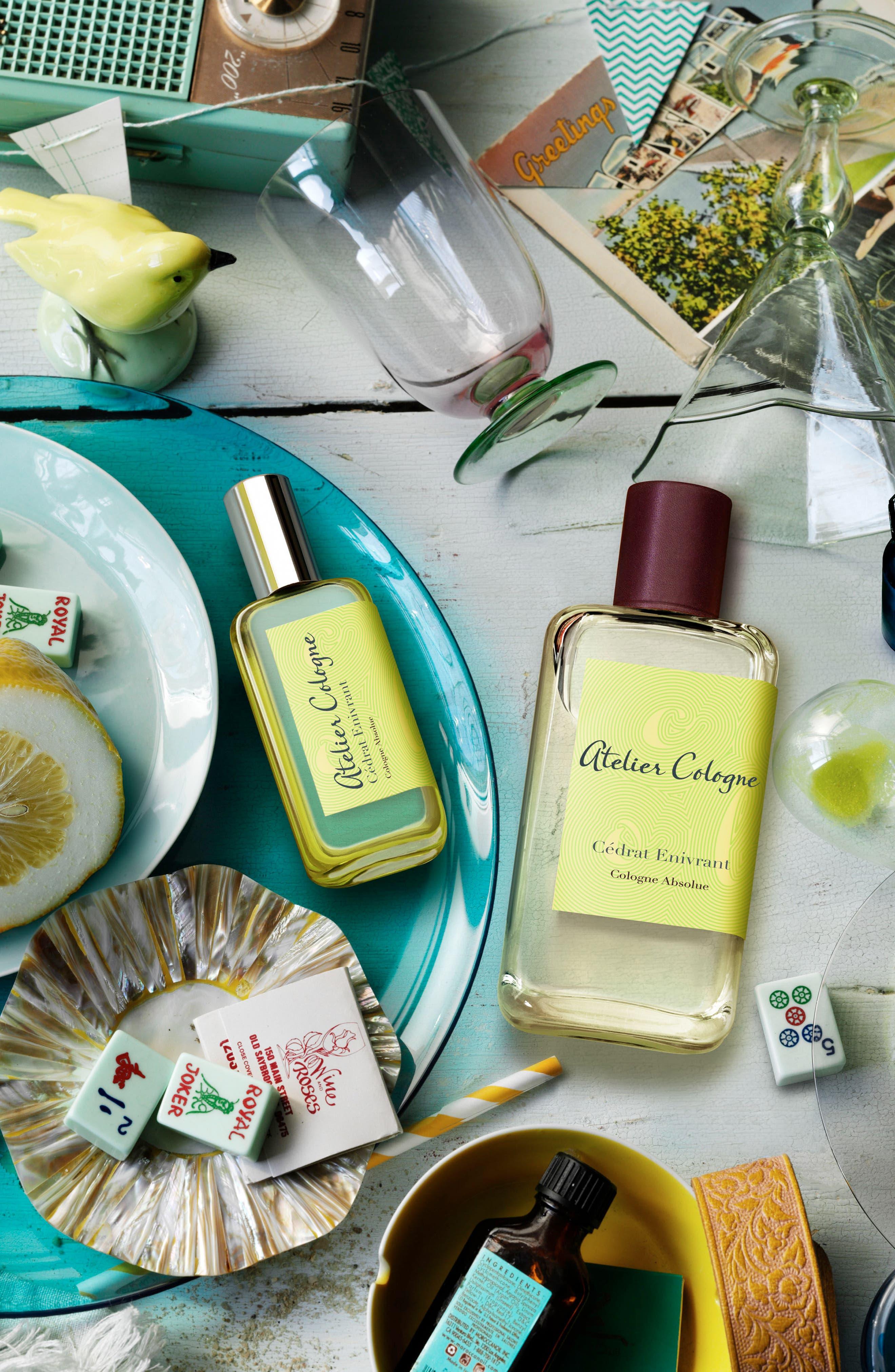 Alternate Image 3  - Atelier Cologne Cédrat Envirant Soap