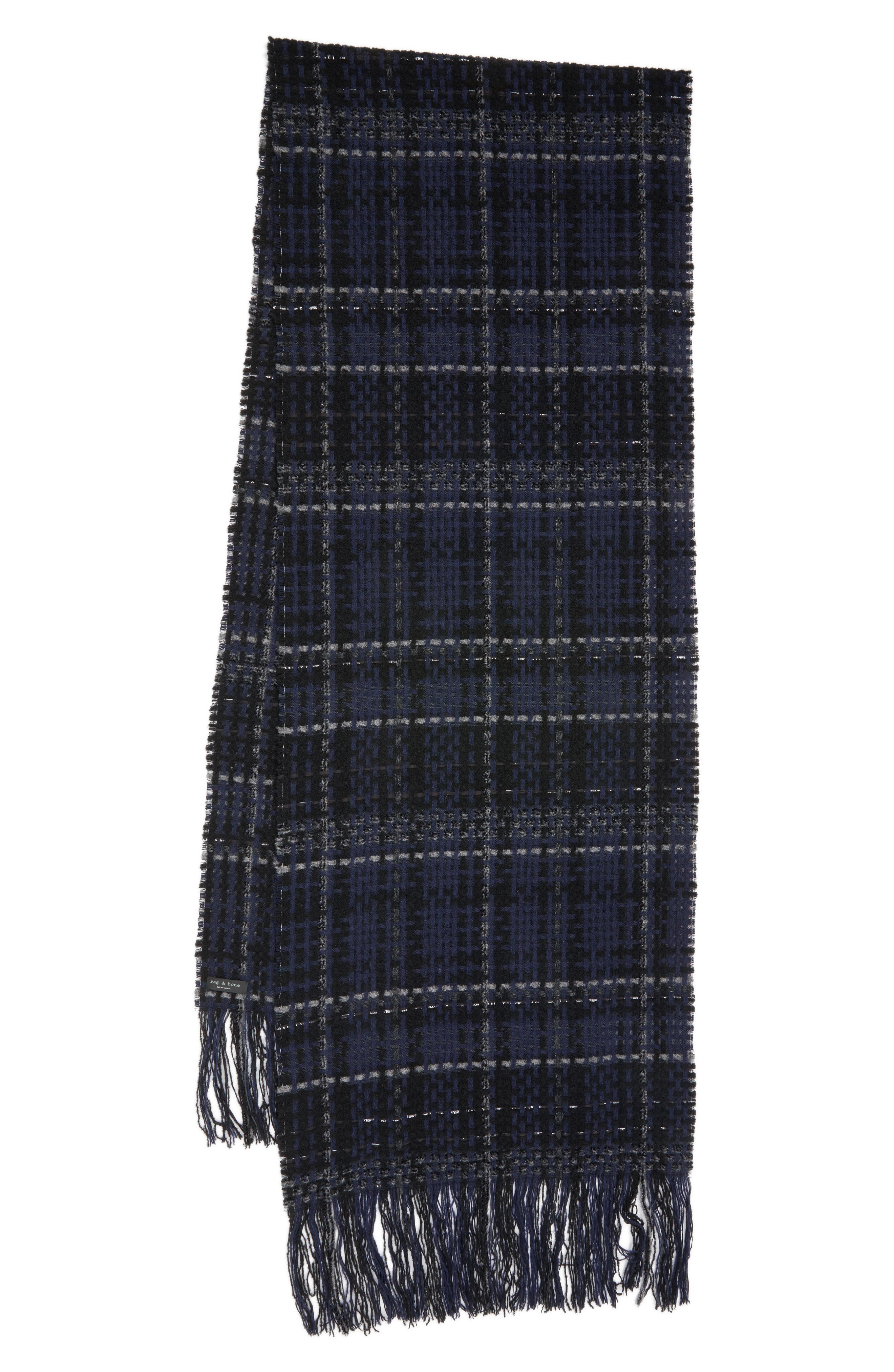 Main Image - rag & bone Linton Tweed Scarf
