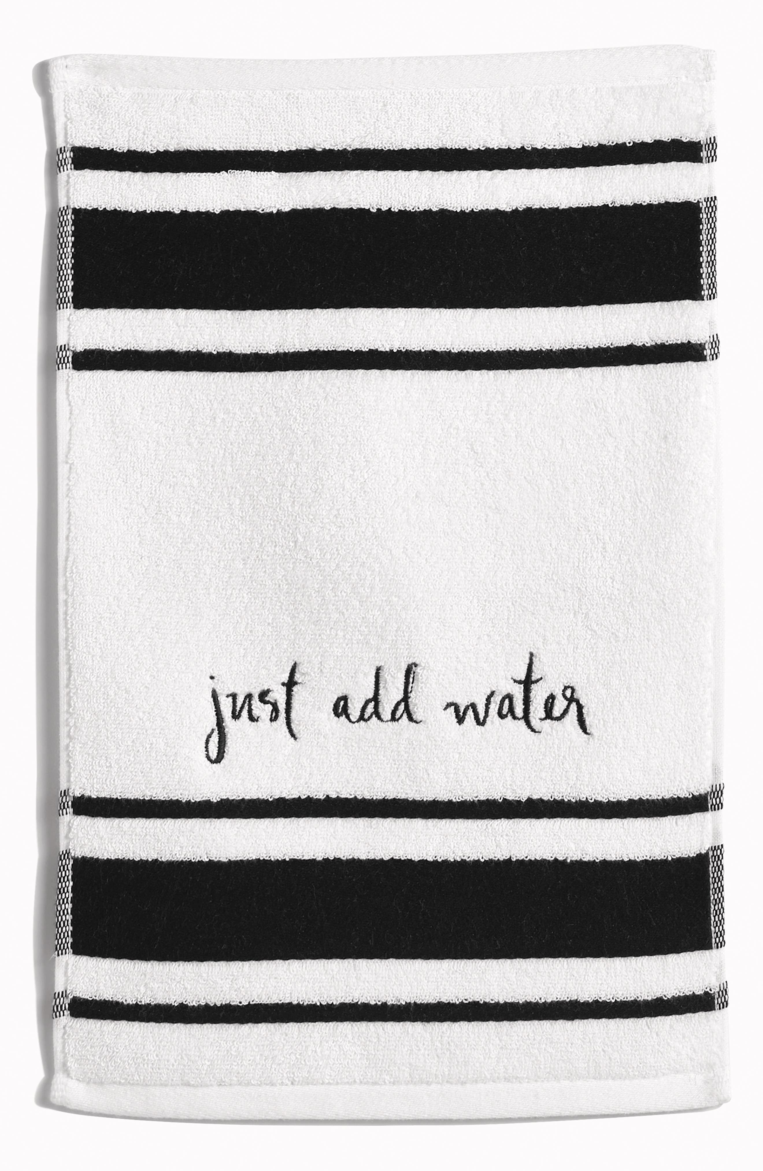 kate spade new york daisy place fingertip towel