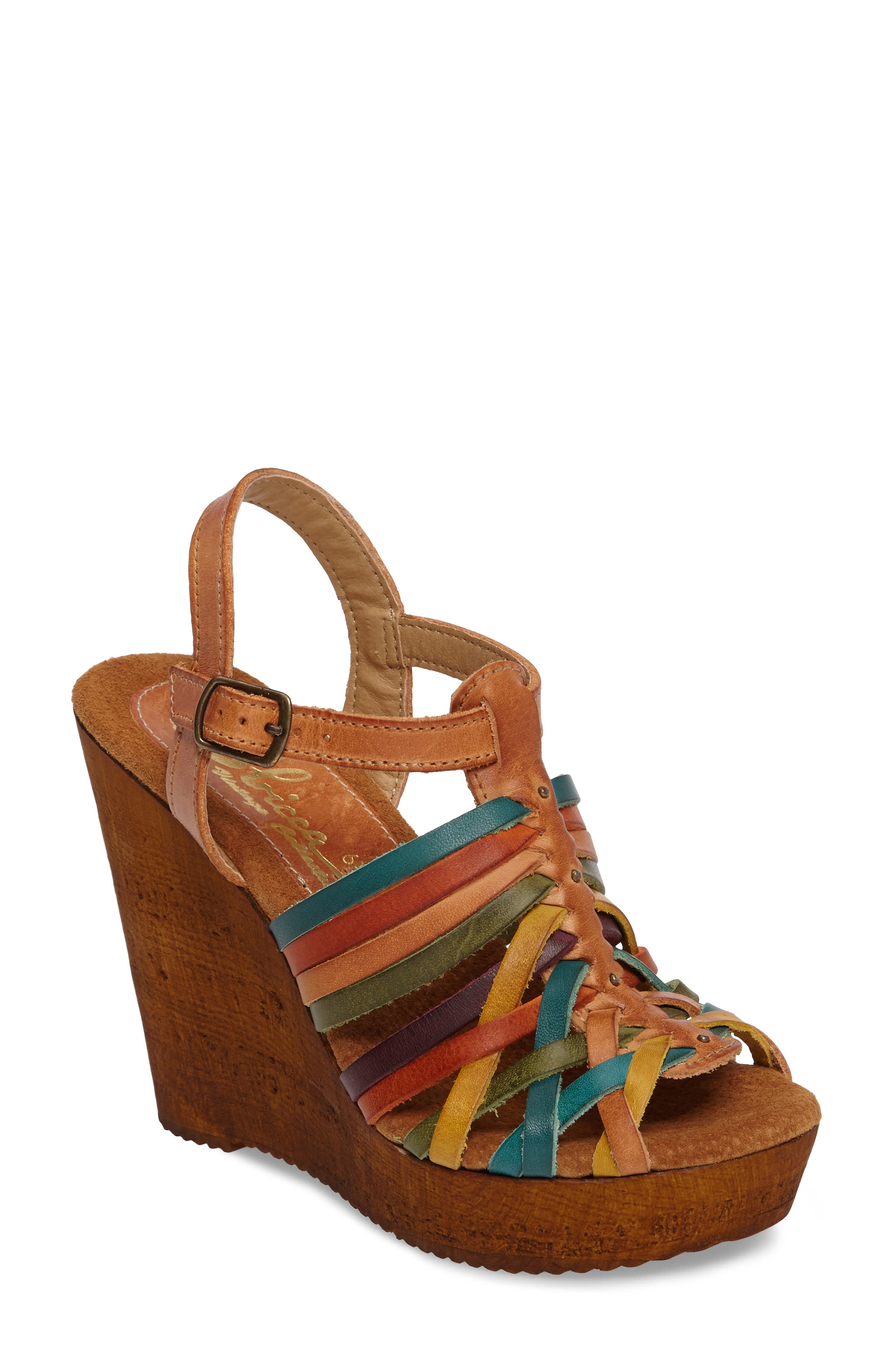 Sbicca Jimena Platform Wedge Sandal (Women)