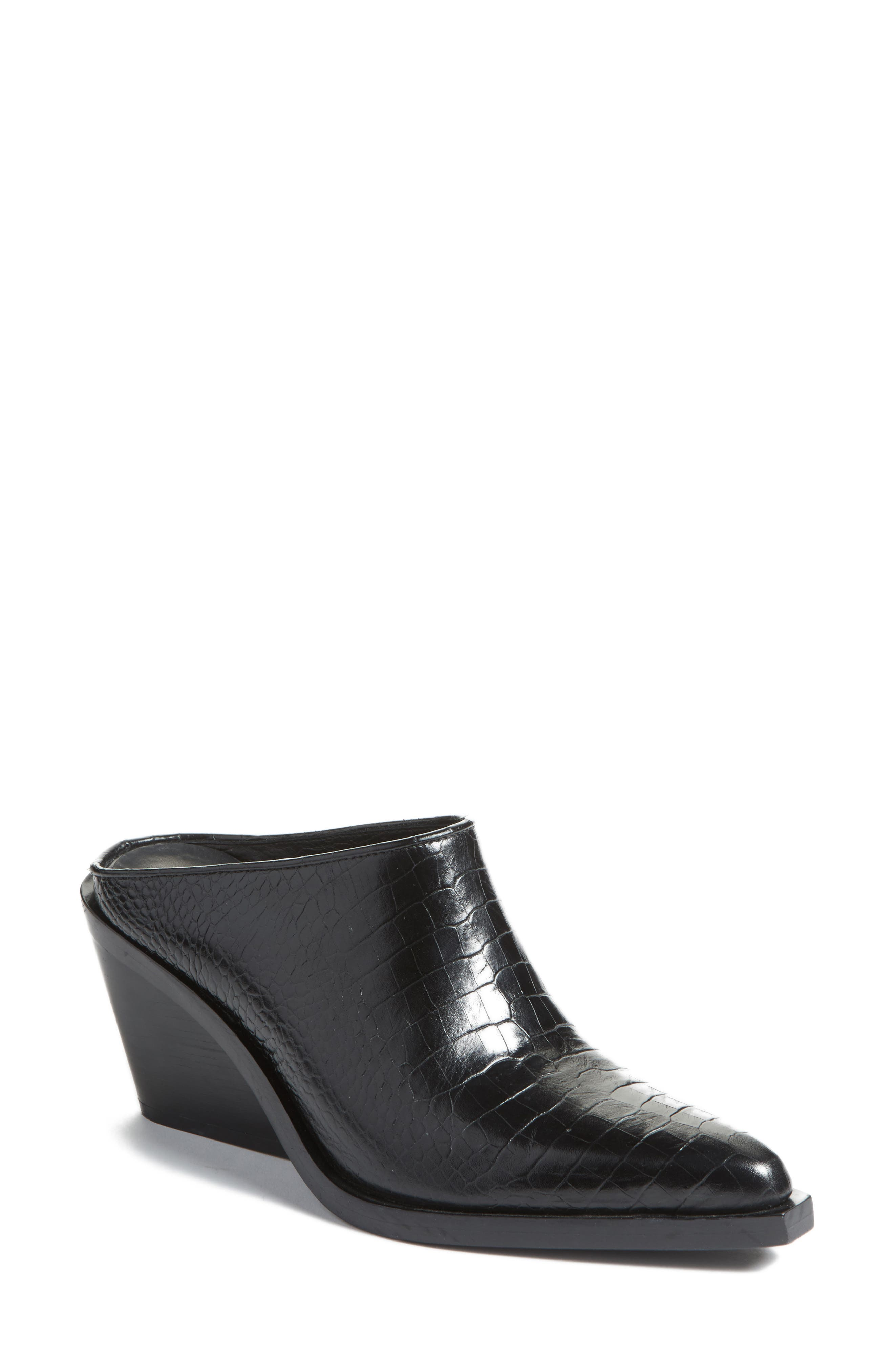 rag & bone Santiago Wedge Mule (Women)