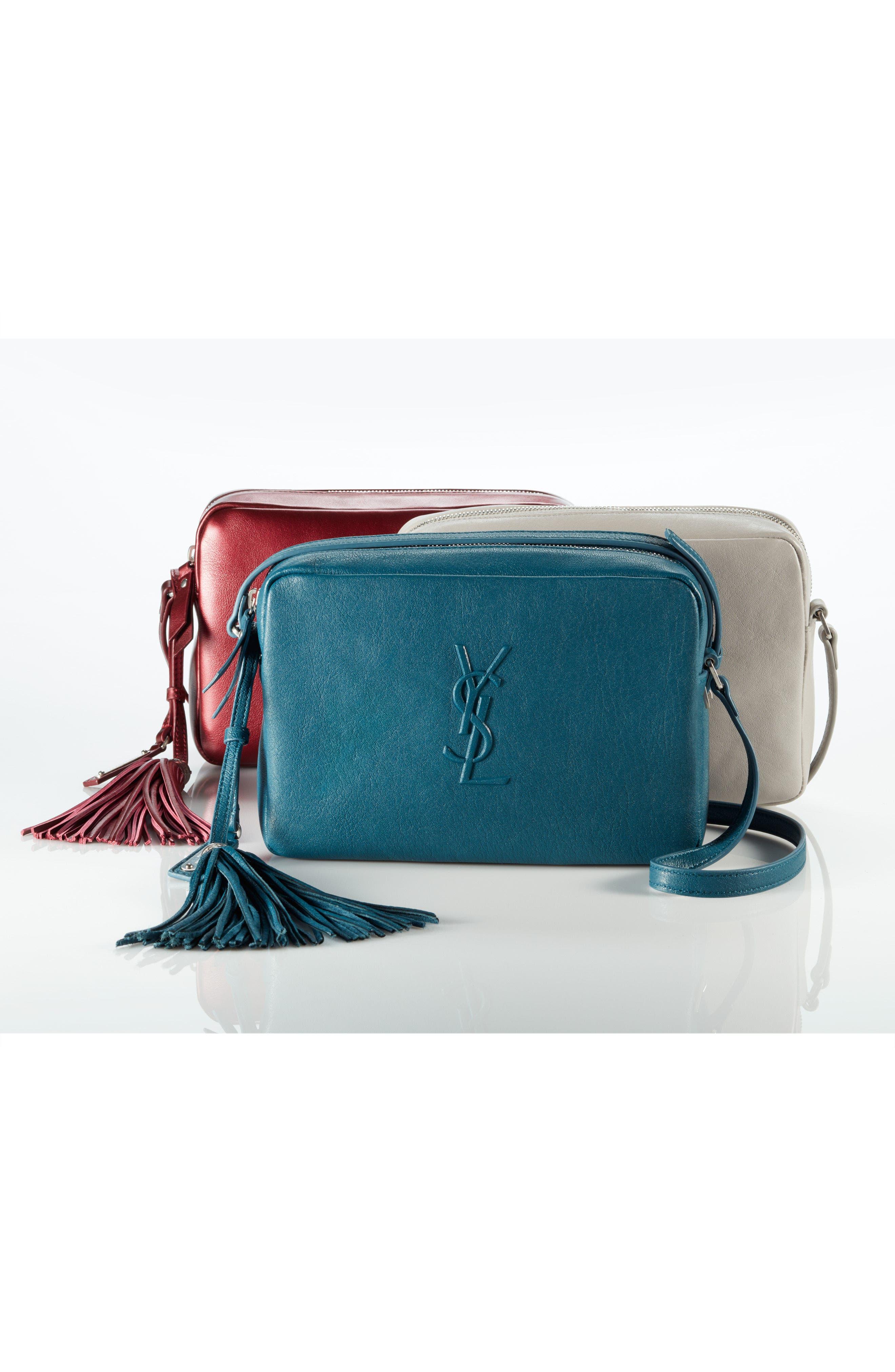 Alternate Image 6  - Saint Laurent Small Mono Leather Camera Bag